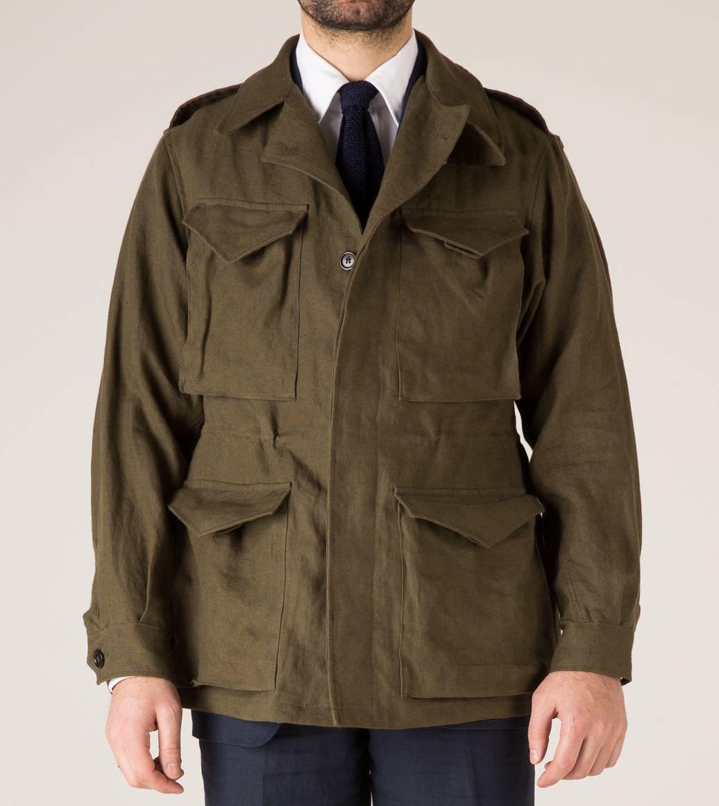 field jacket drakes
