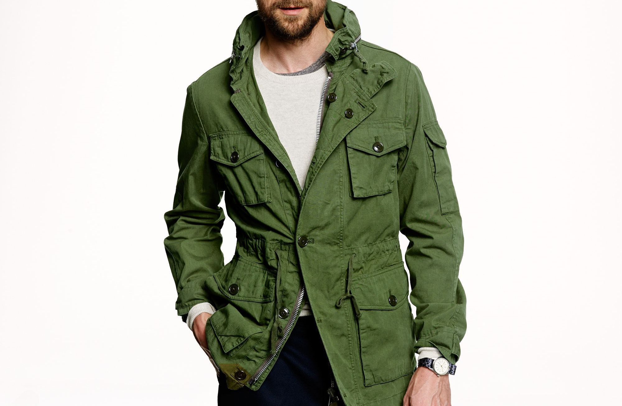 field jacket homme