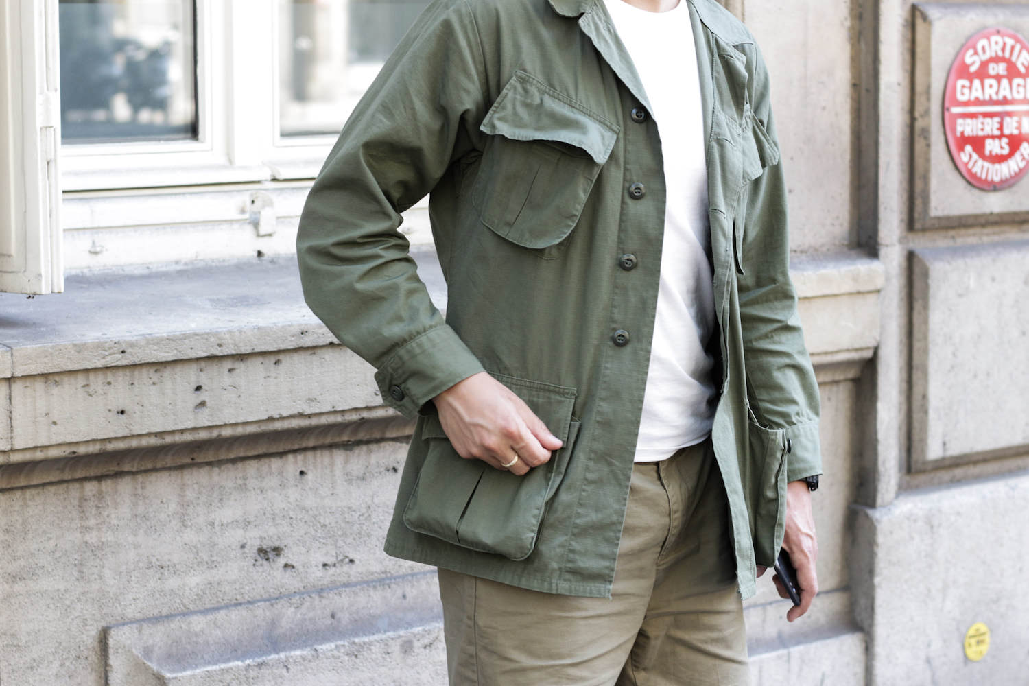 jungle jacket homme