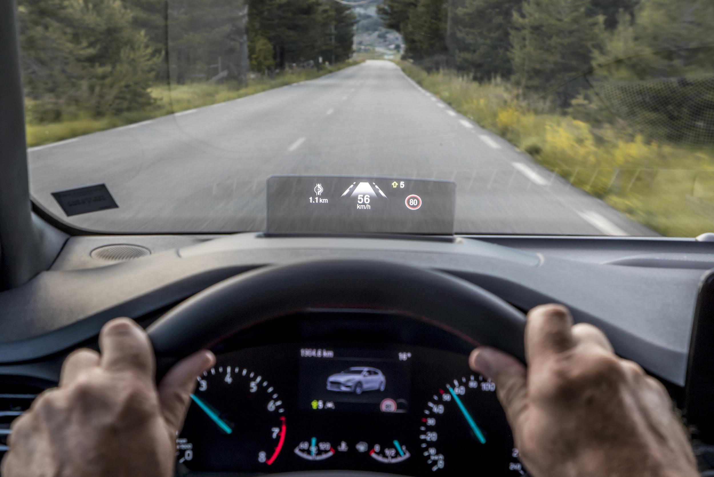 affichage tete haute ford focus 2018