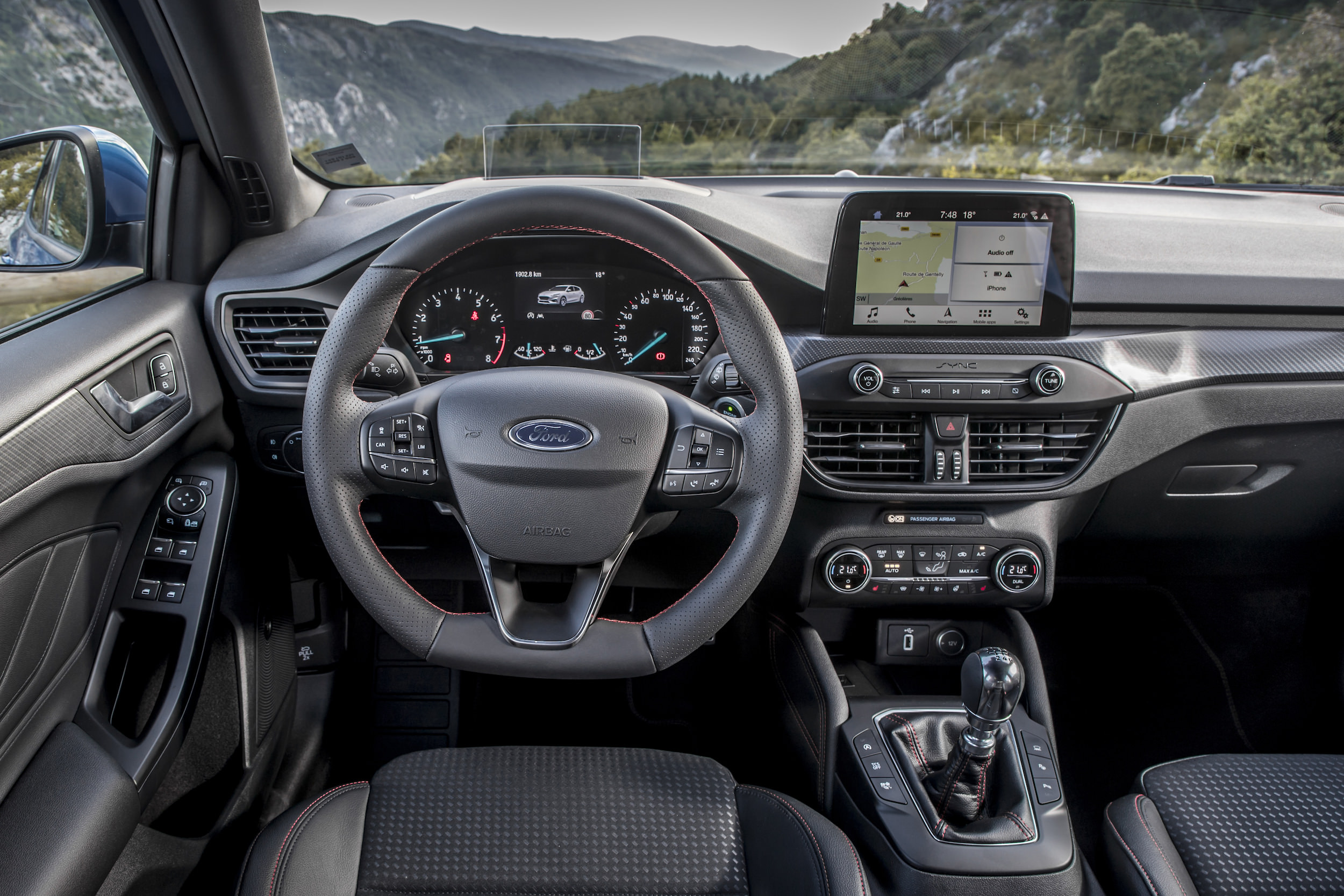 ford Focus ST-Line 2018 interieur
