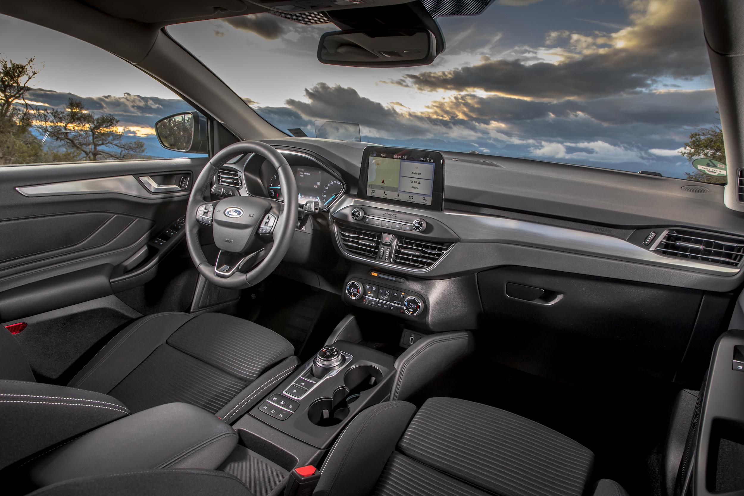 interieur ford Focus titanium 2018