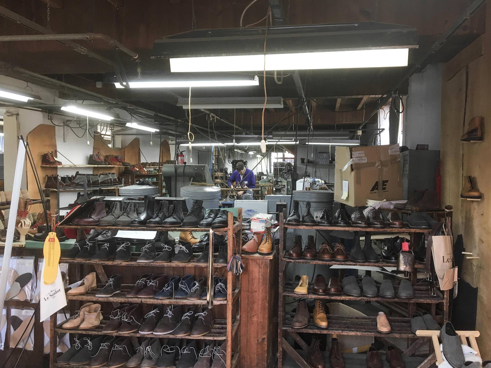 atelier le soulor pontacq etagere chaussures