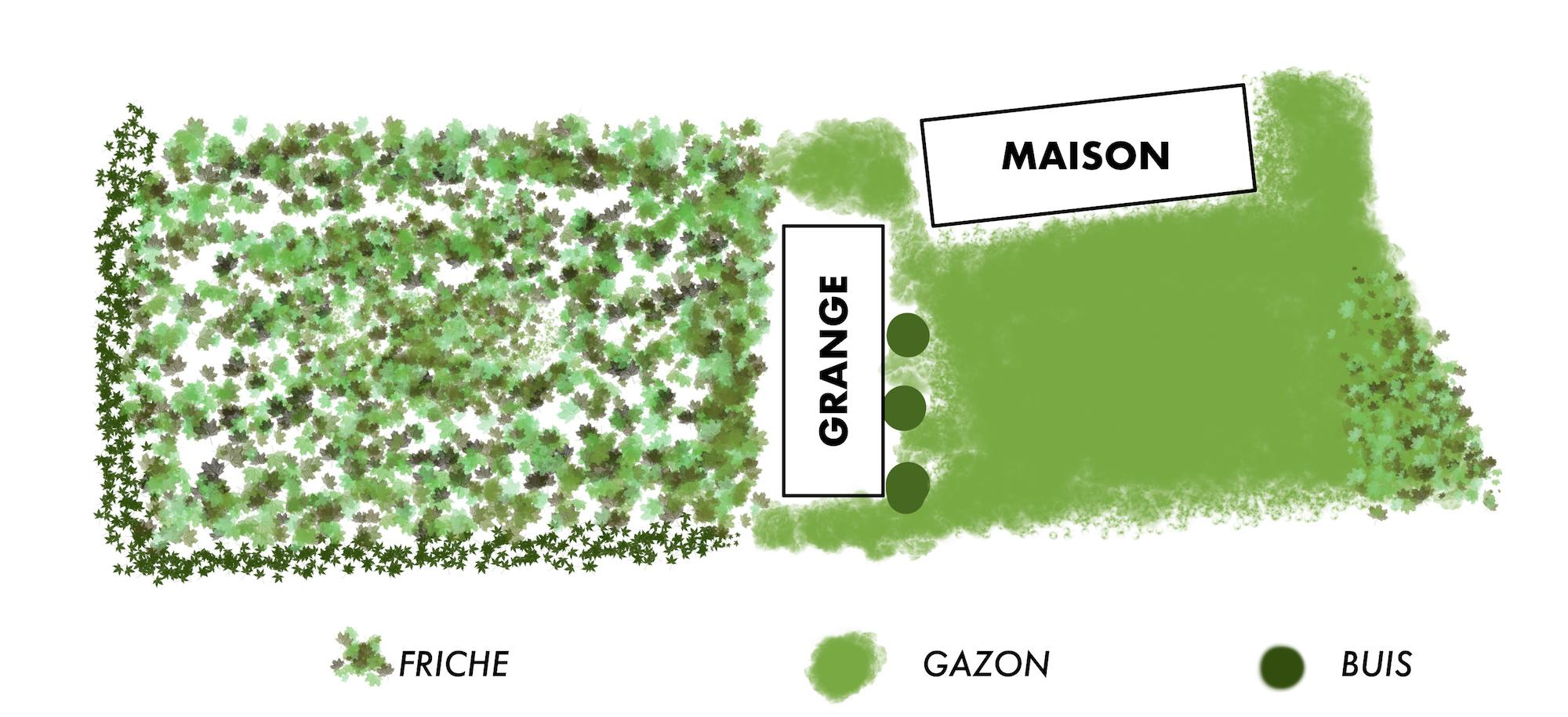 jardin maison vgl