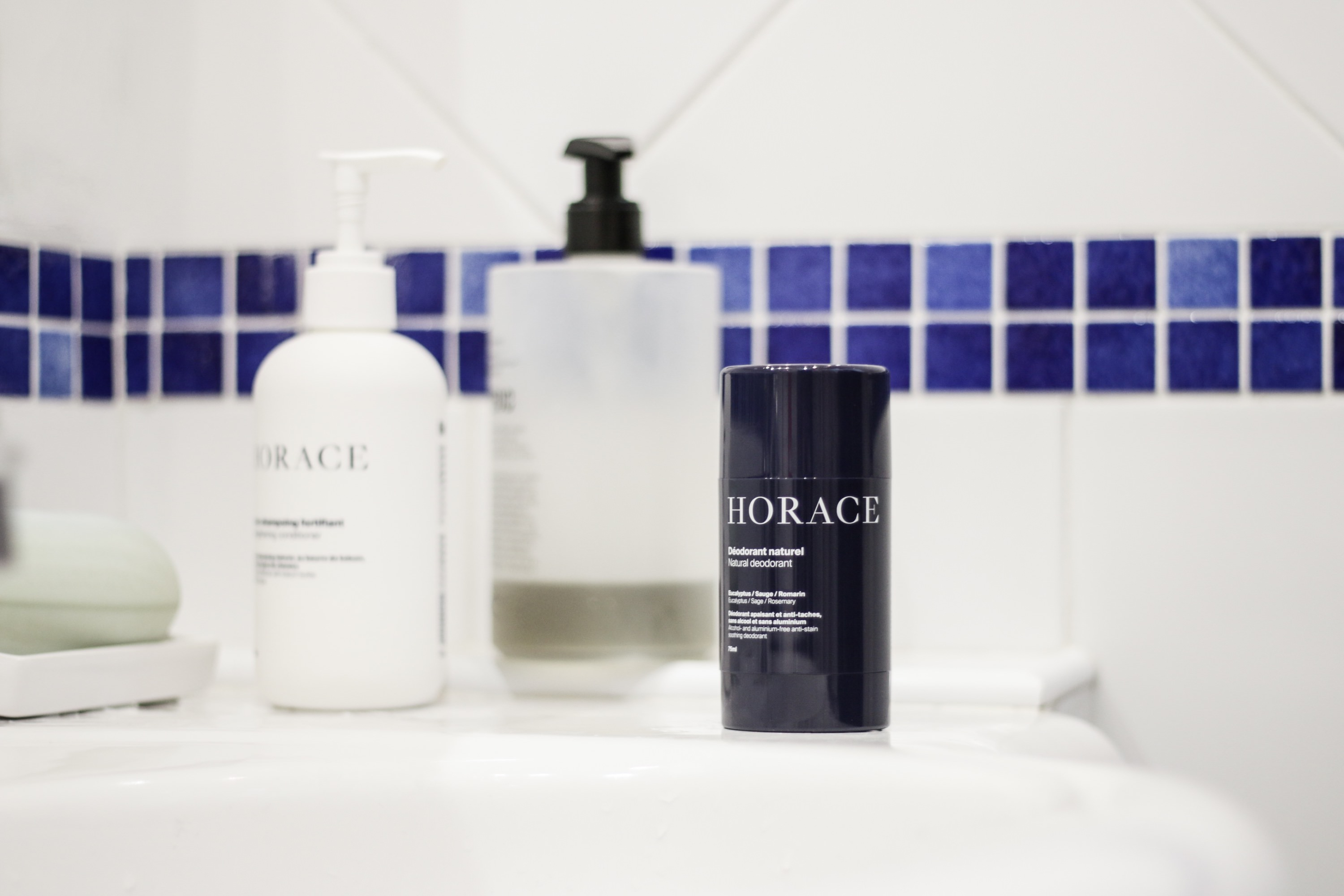 test deodorant homme horace