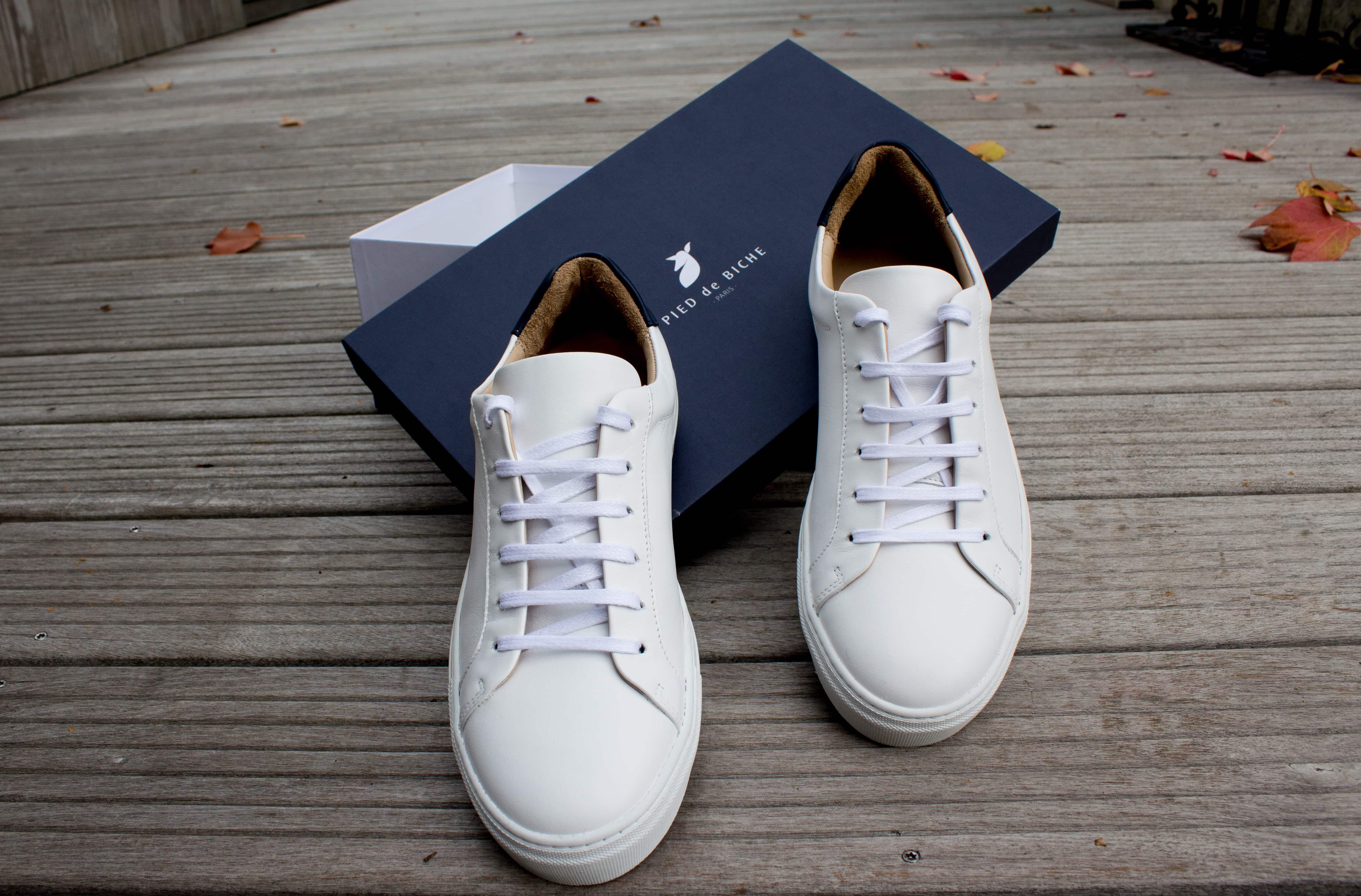 Pied de Biche chaussures et boîte