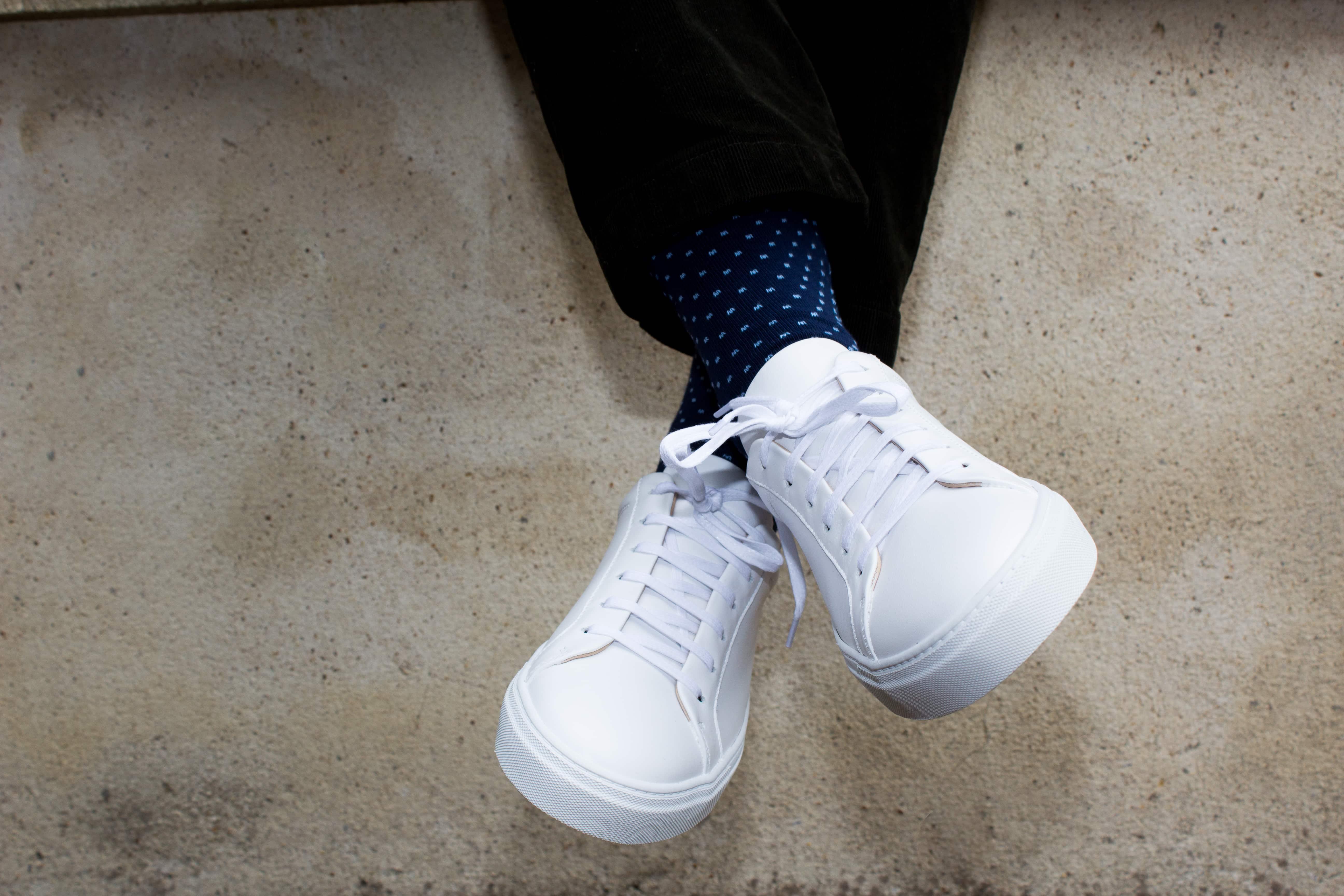 sneakers Pied de Biche bonne longueur