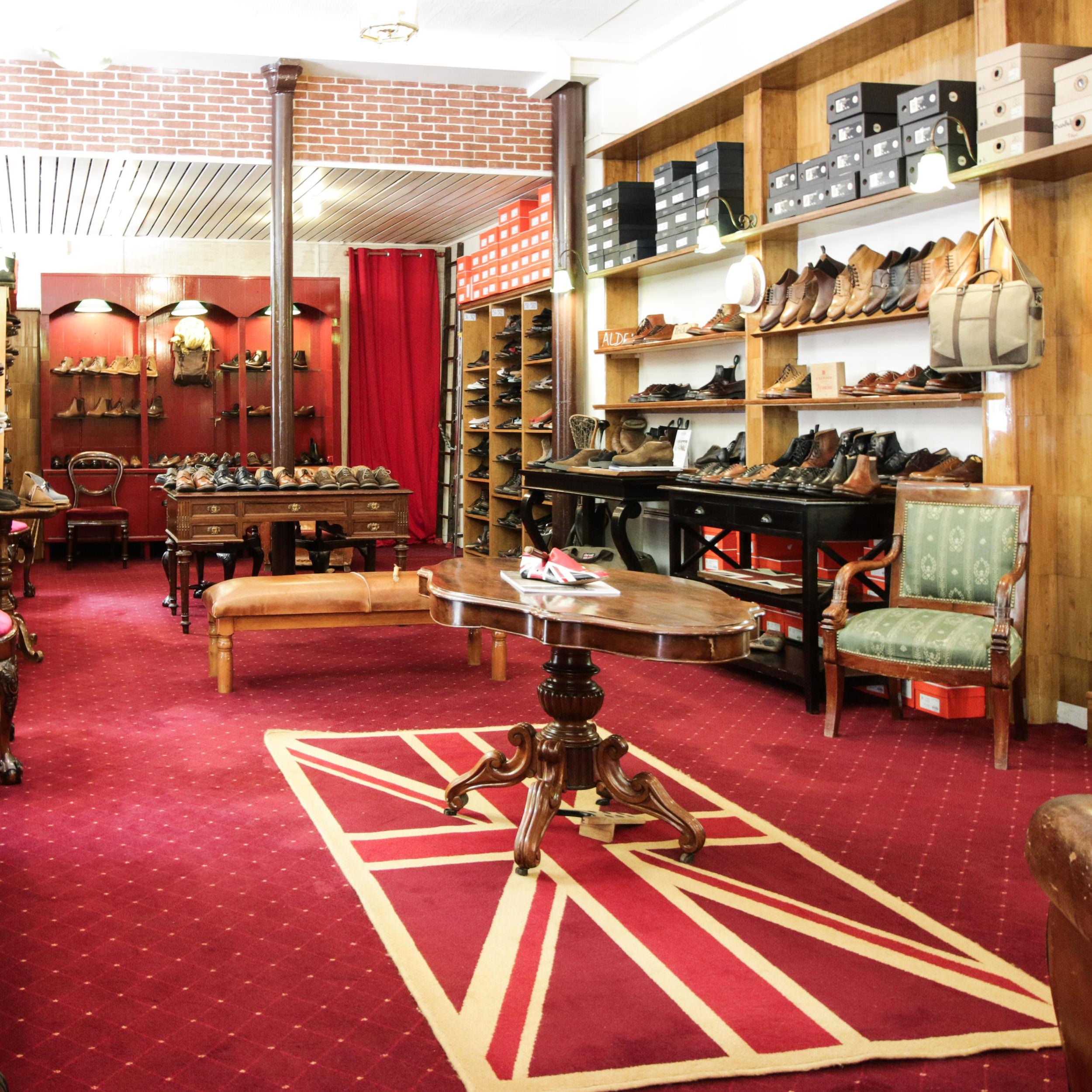 boutique british shoes paris