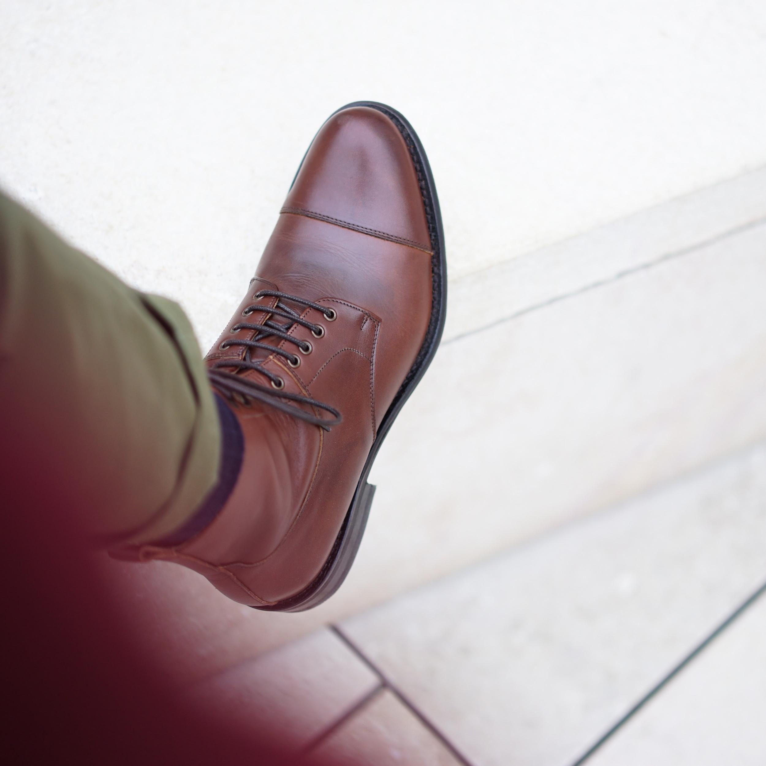 british shoes boots marron