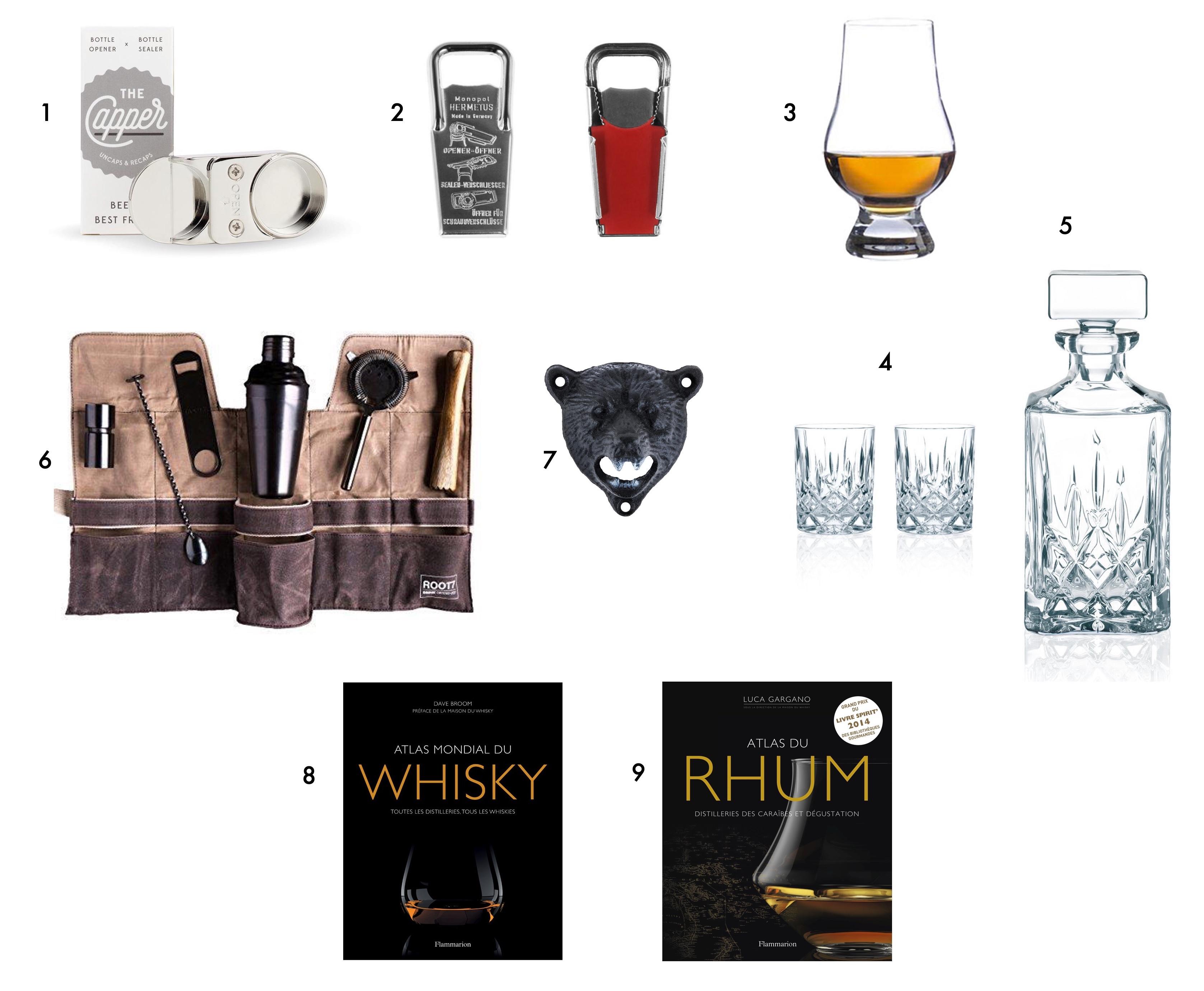 cadeau noel homme aime spiritueux vin whisky