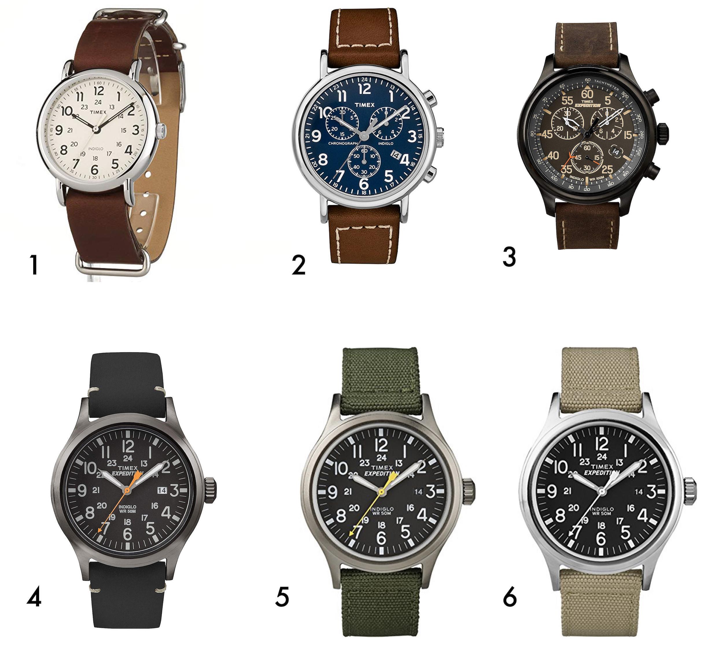 timex montre homme noel
