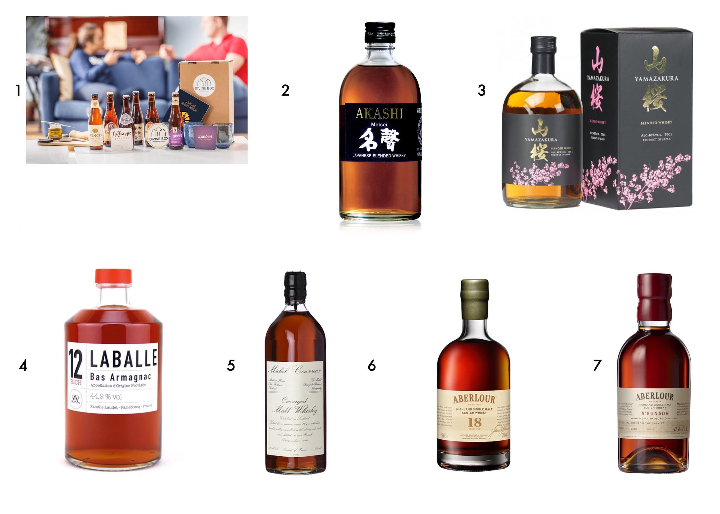 whisky cadeau Noël homme
