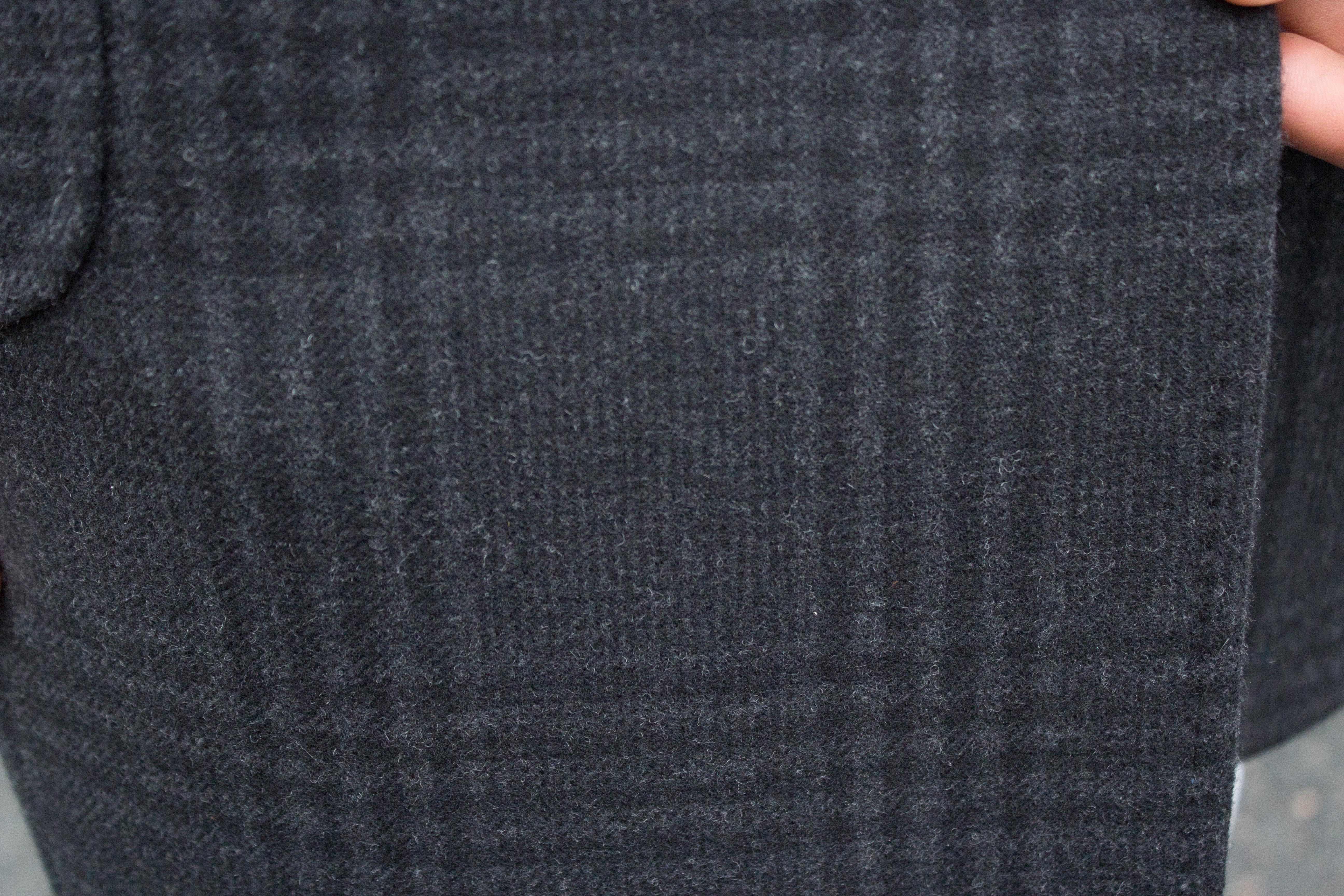 Aperçu tissu et surpiqûres