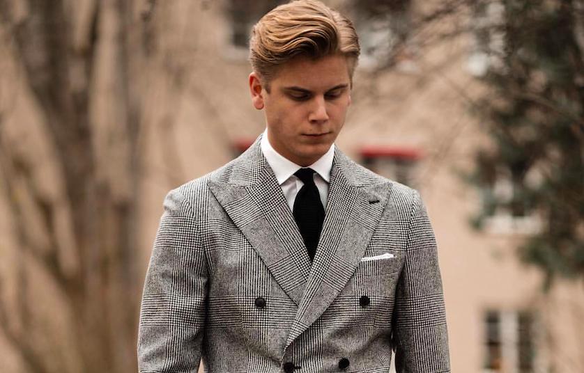 Oskar Salomonsson costume Prince de Galles