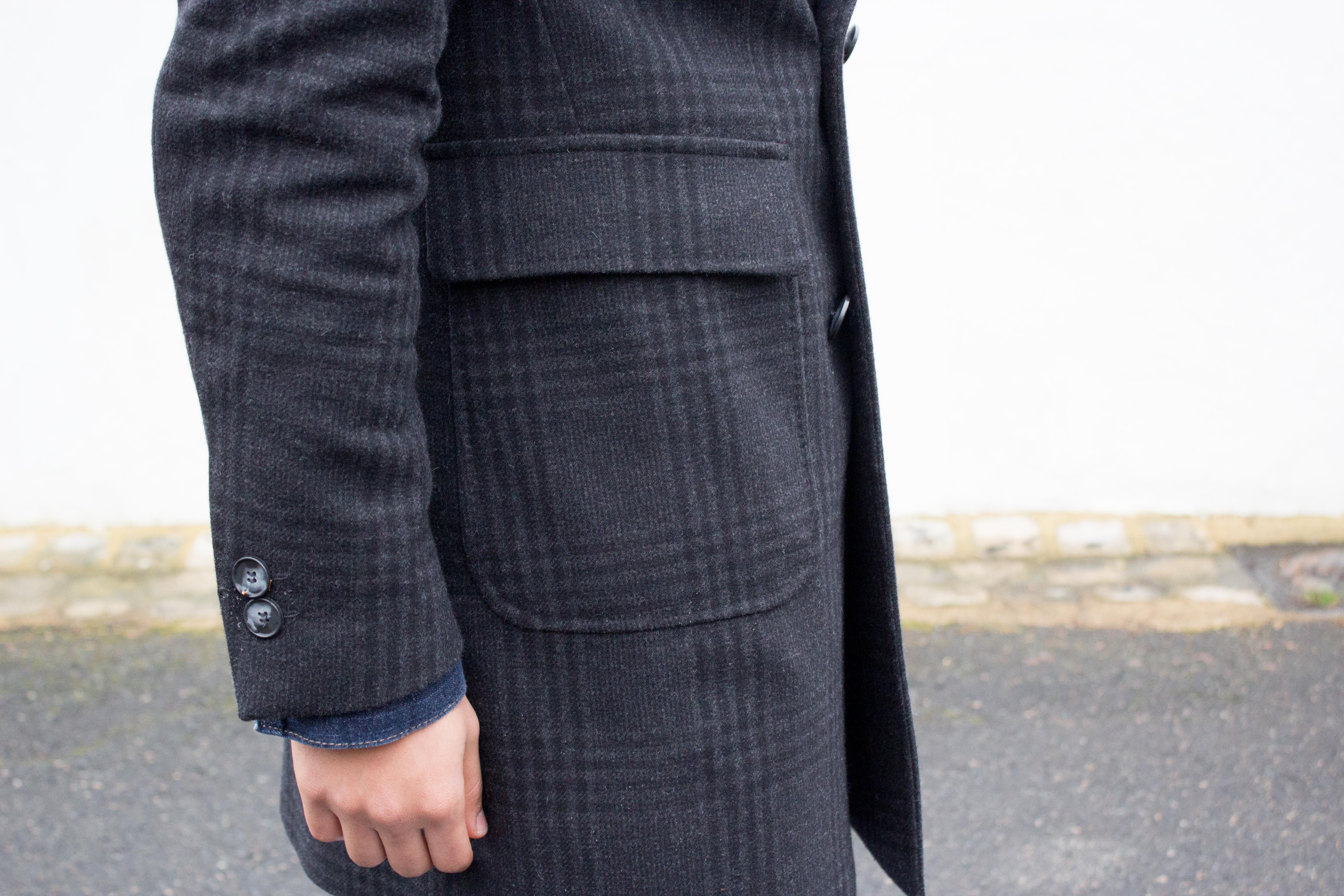 Deux poches plaquées
