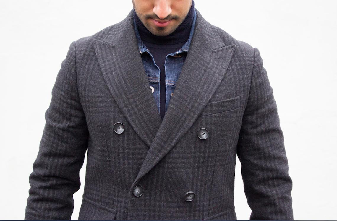 Manteau Gabin de face