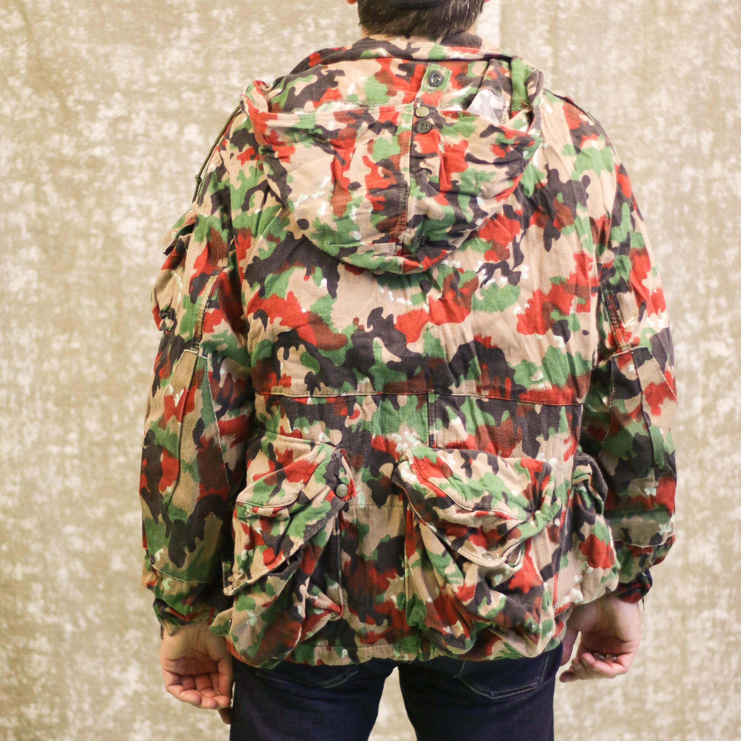 Veste Armee Suisse camouflage Alpenflage arriere