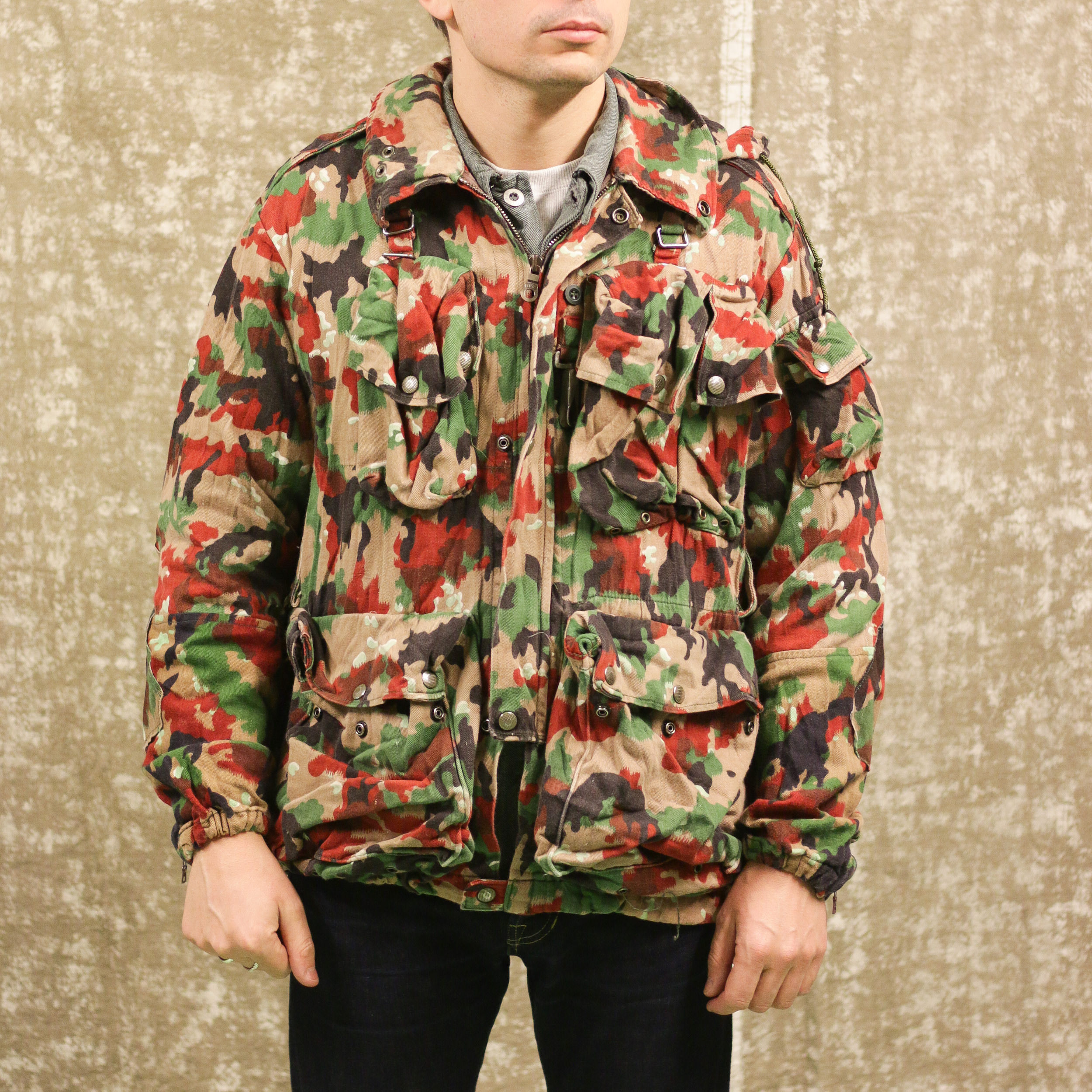 Veste Armee Suisse camouflage Alpenflage avant