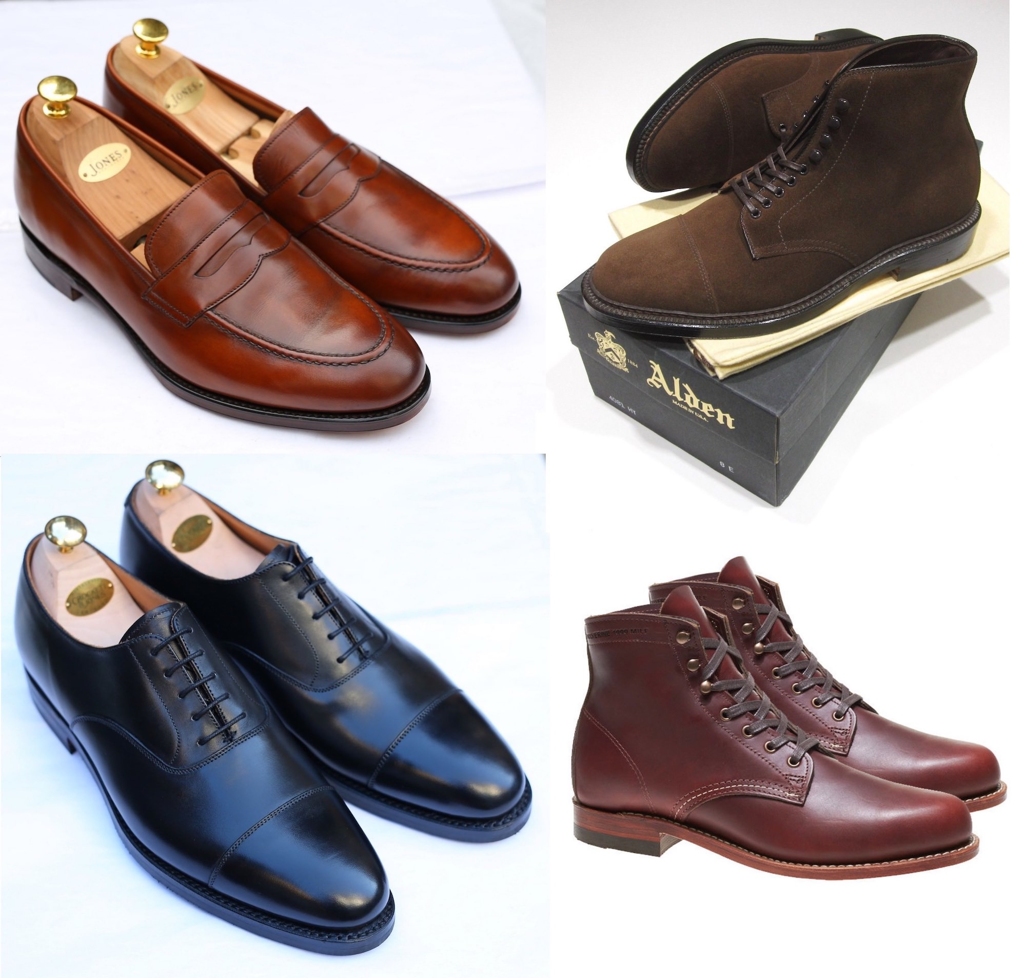 chaussures homme vintage selection