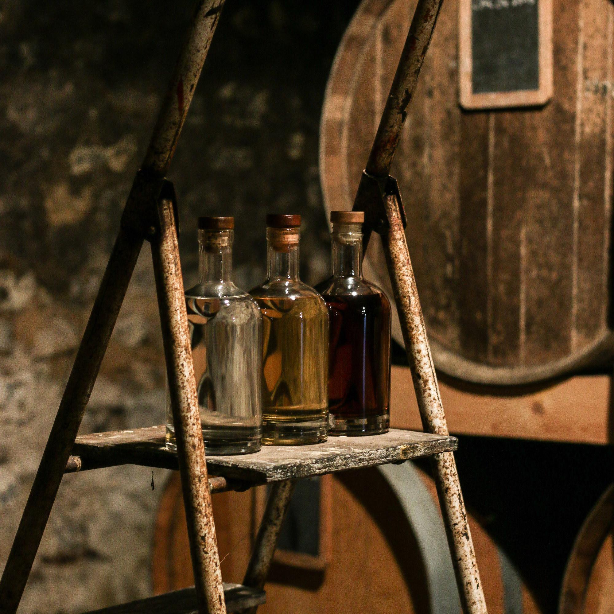 évolution vieillissement calvados bouteilles