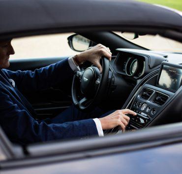 interieur Aston Martin DB11 volante