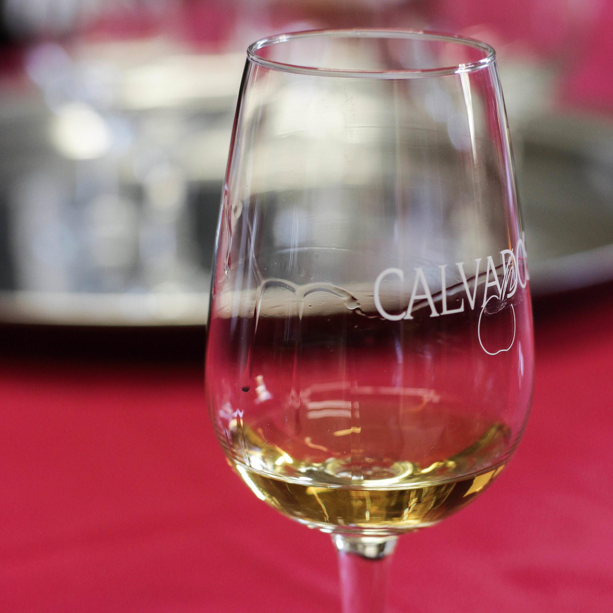verre calvados