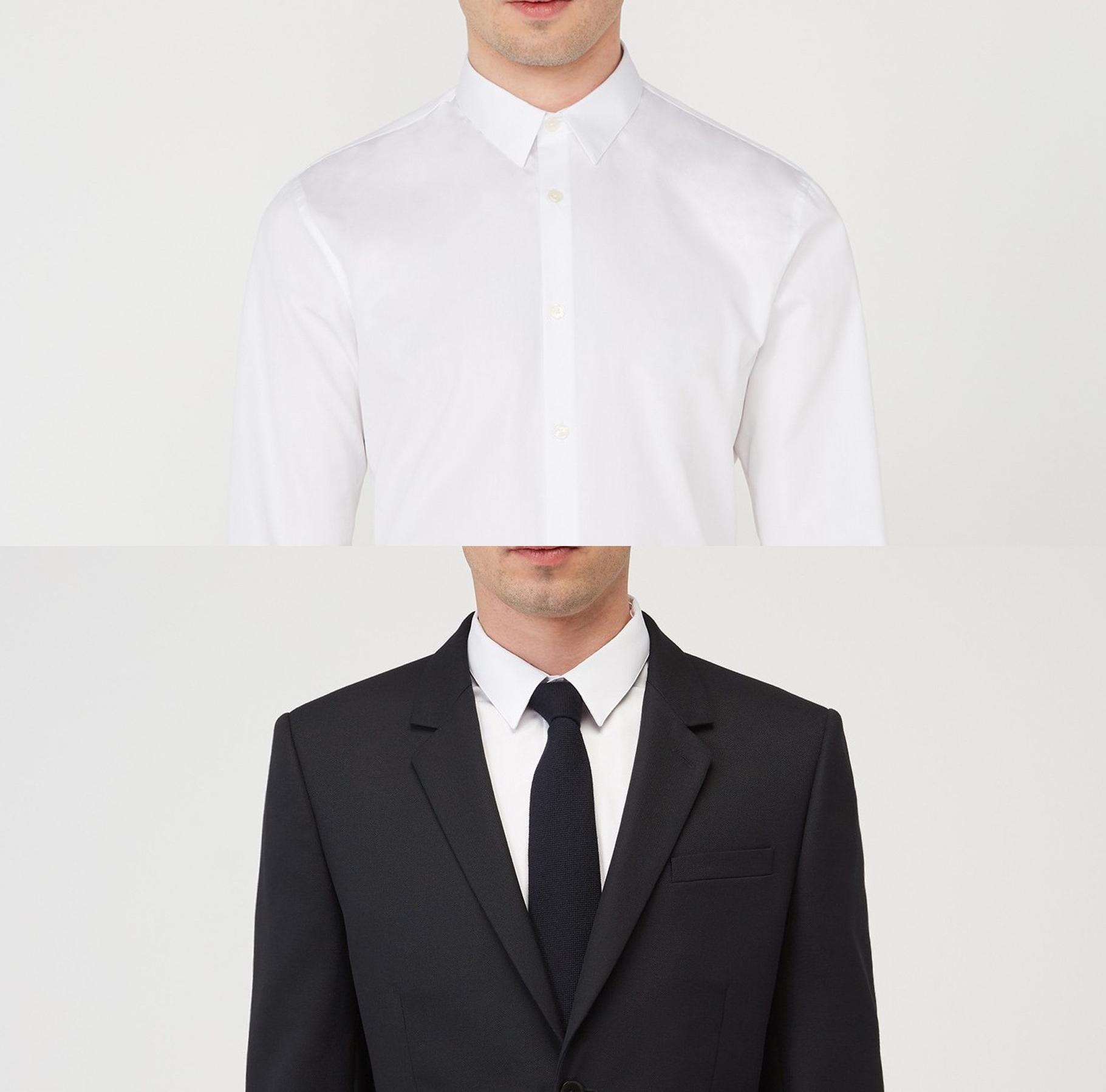 chemise petit col