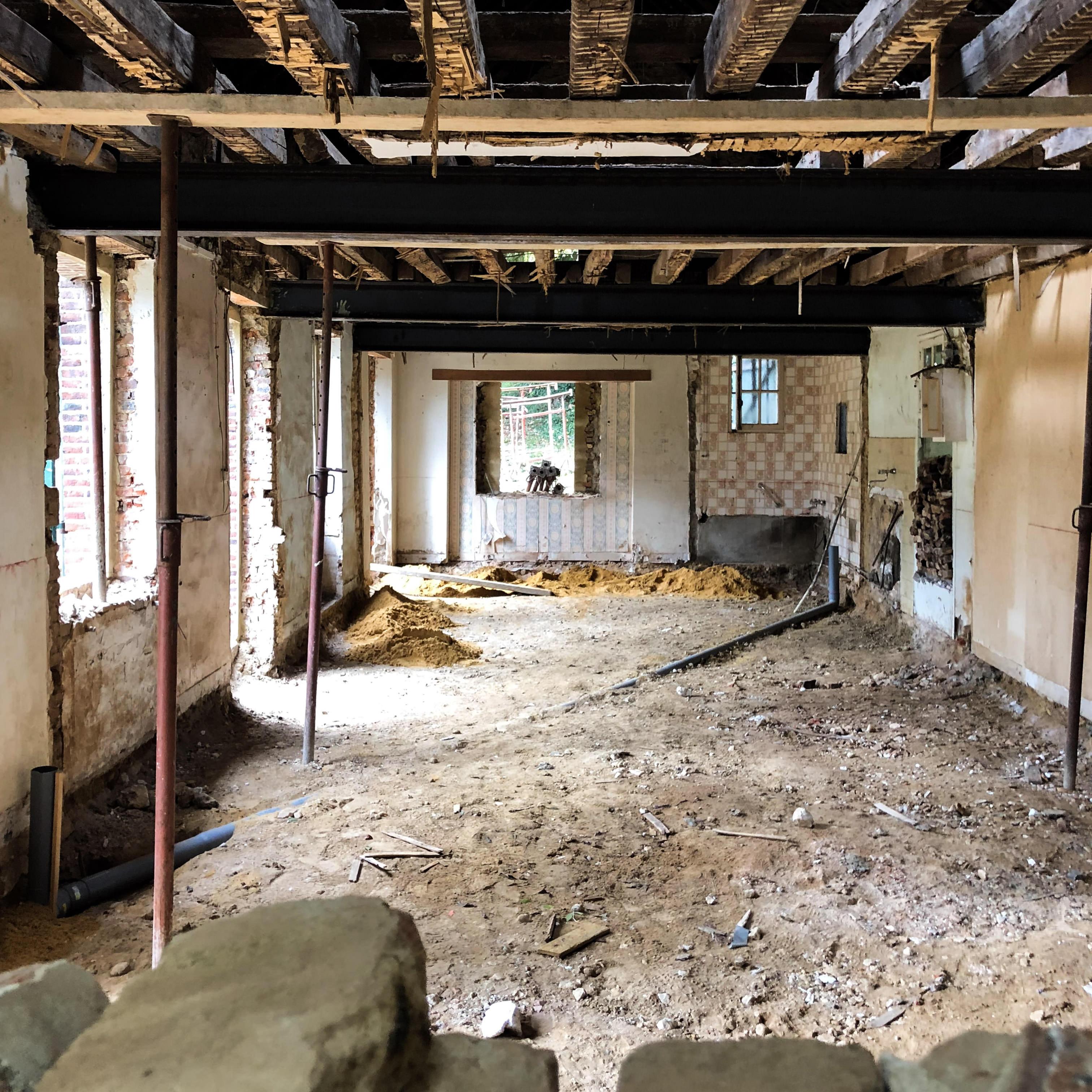interieur maison vgl avant travaux
