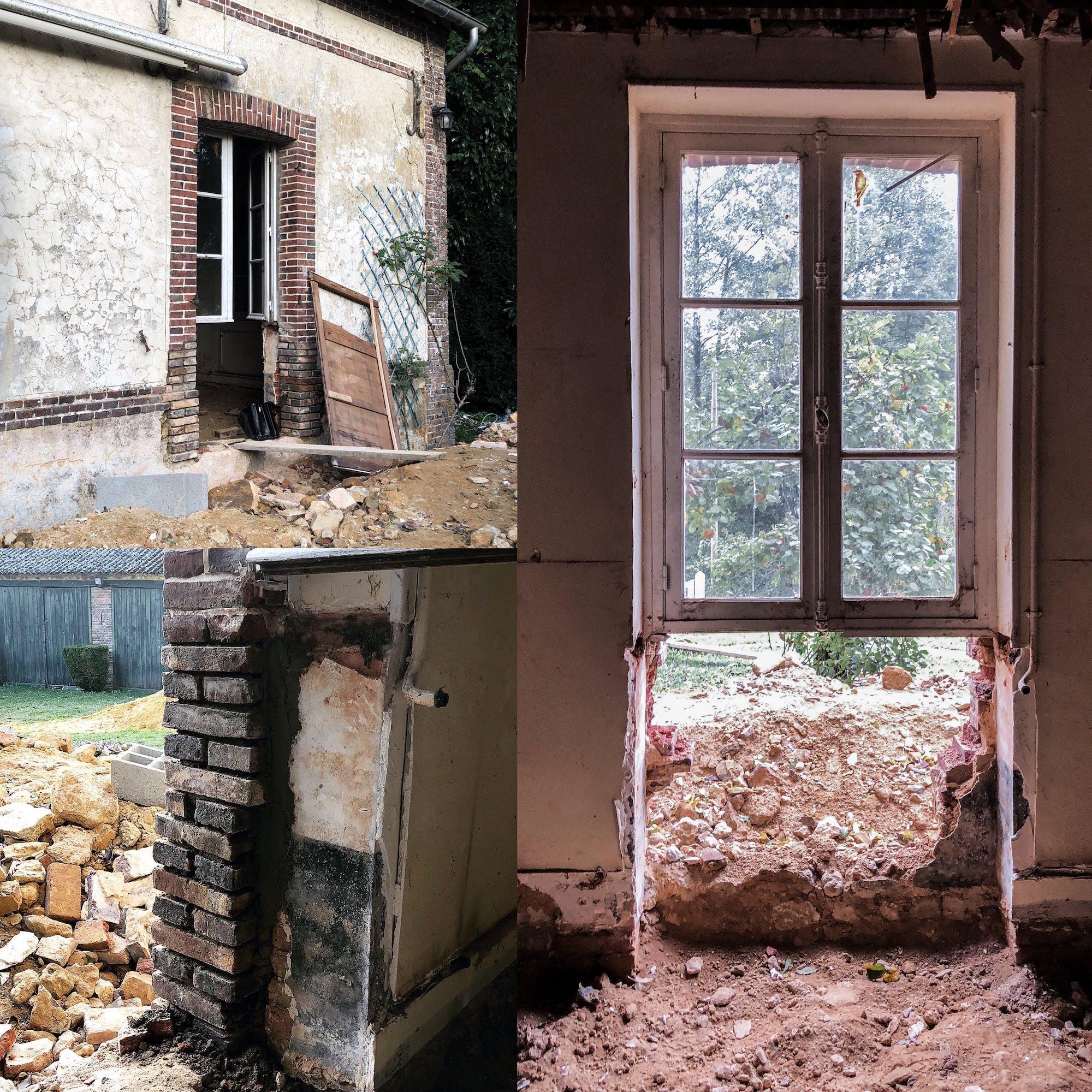 porter entree maison vgl demolition