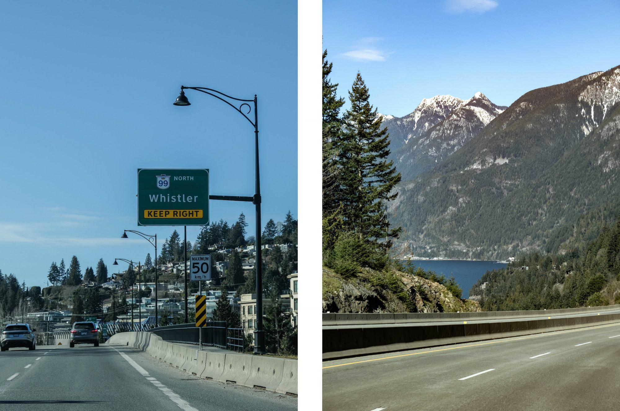 route de whistler