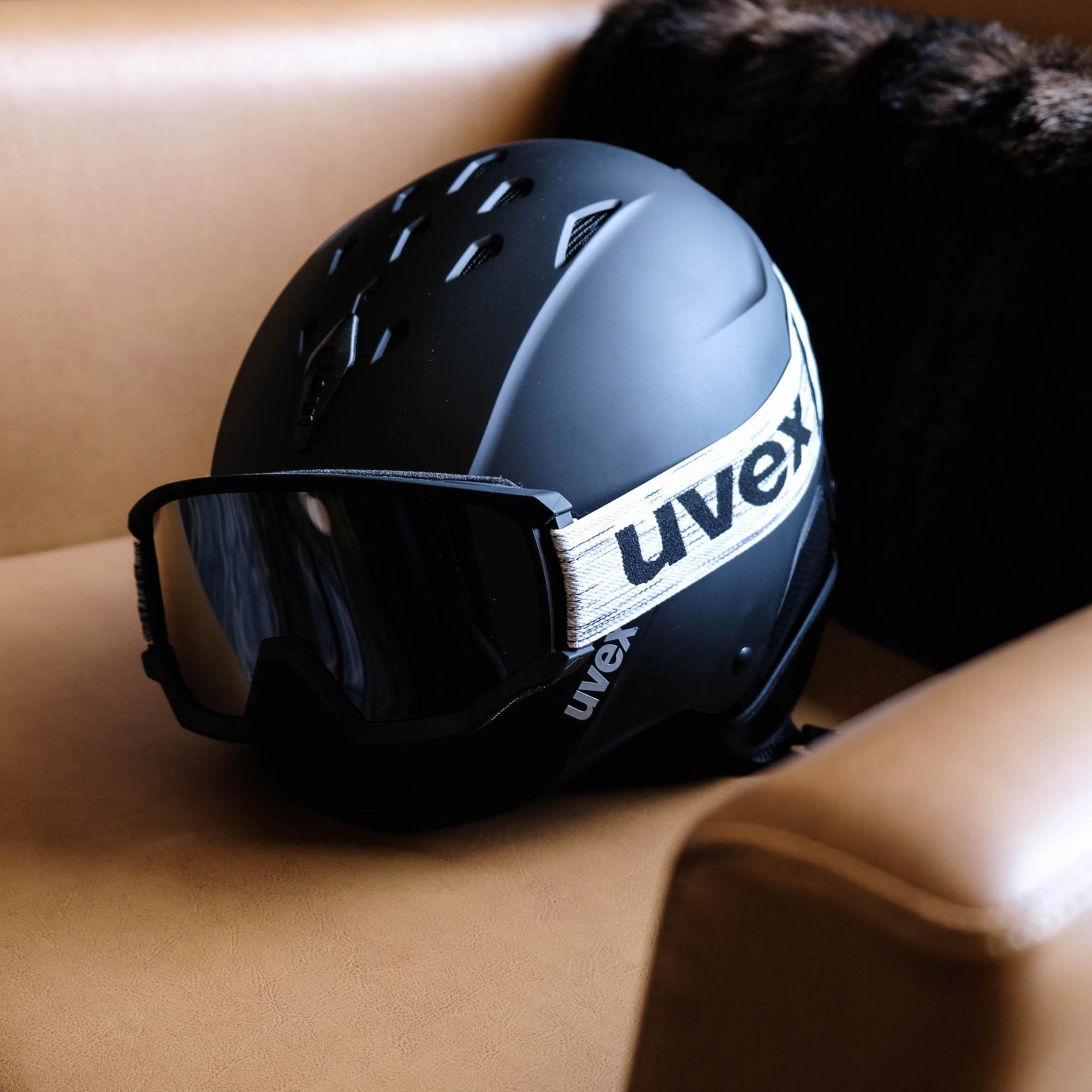 casque et masque Uvex