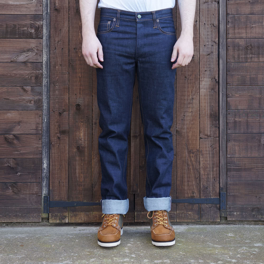 Left Field NYC | jean brut, 13oz, Cone Mills, Selvedge