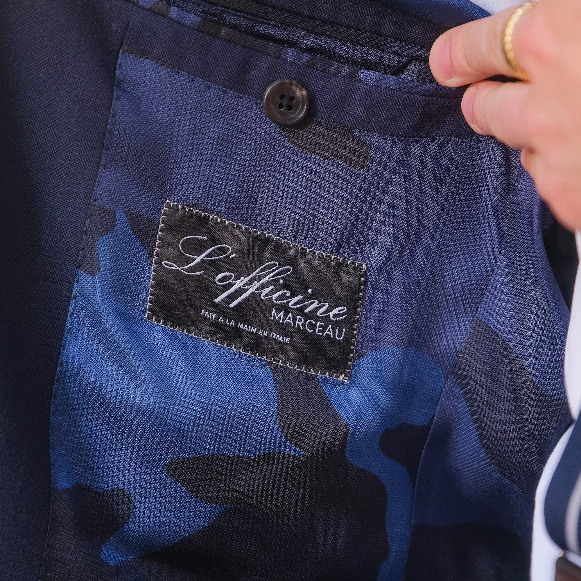 étiquette l'officine Marceau fait à la main en Italie