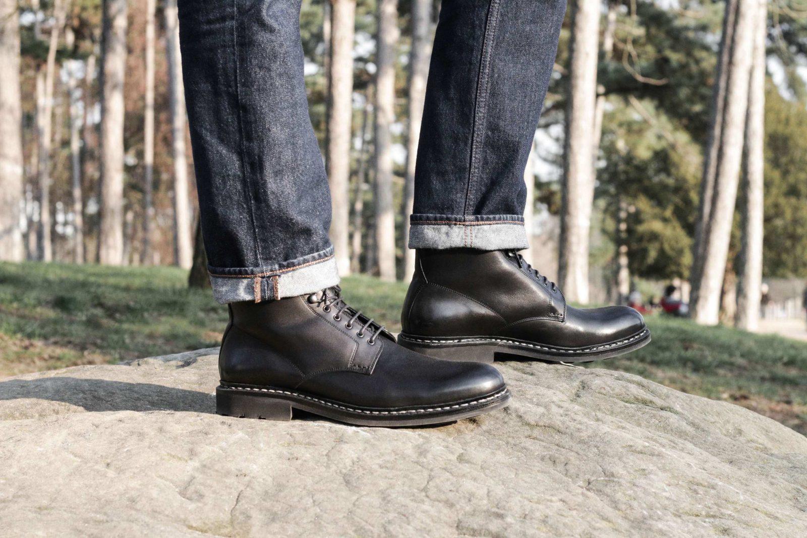 heschung bottines boots homme