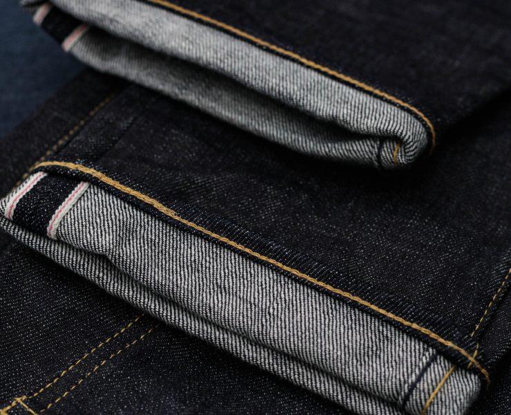 point de chainette jean selvedge