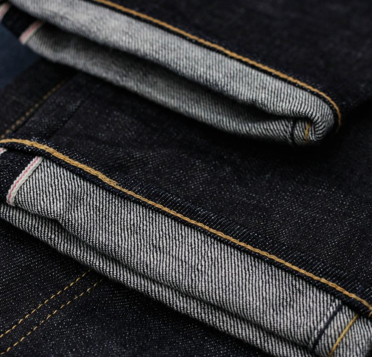 point de chainette jean selvedge