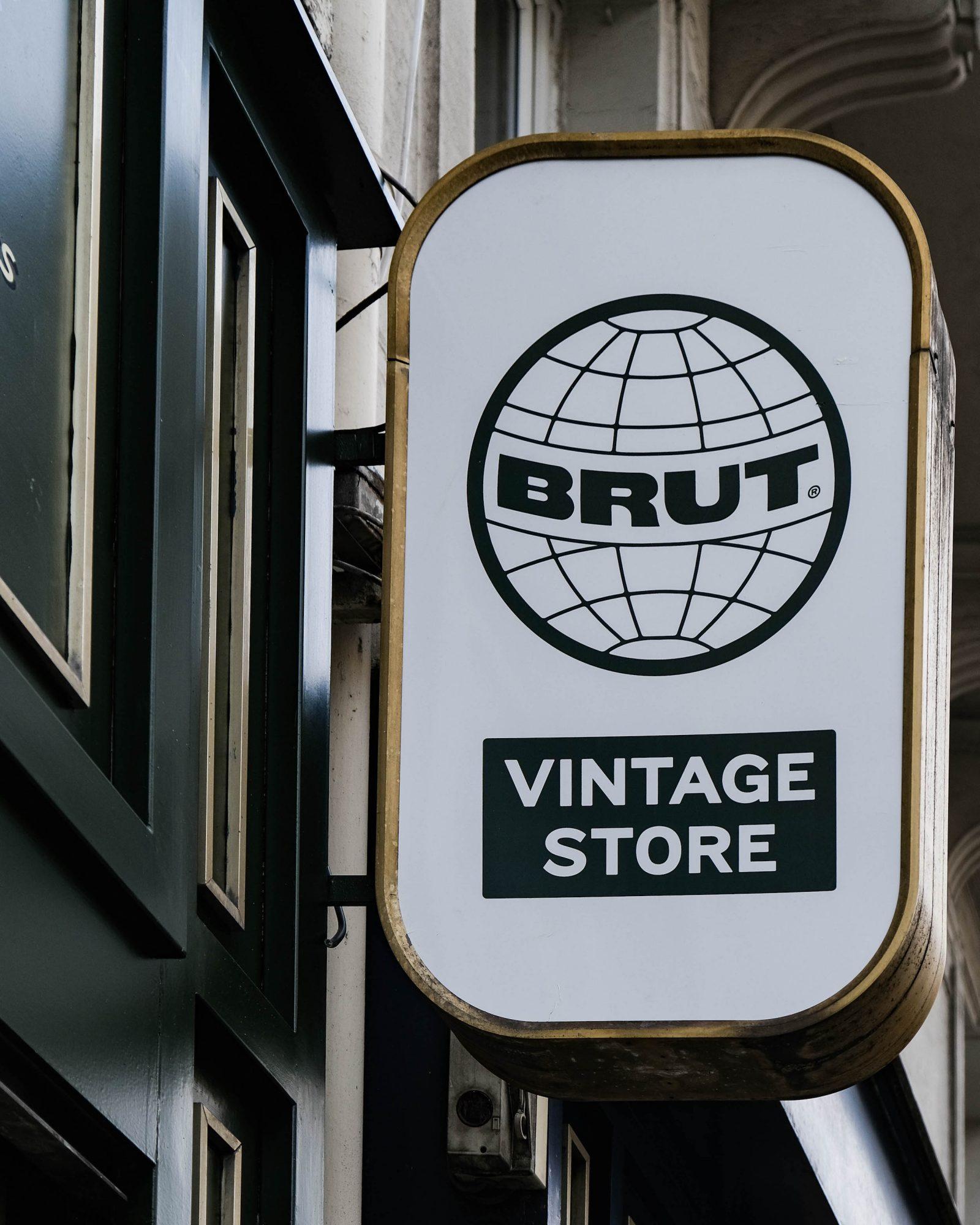 brut vintage store