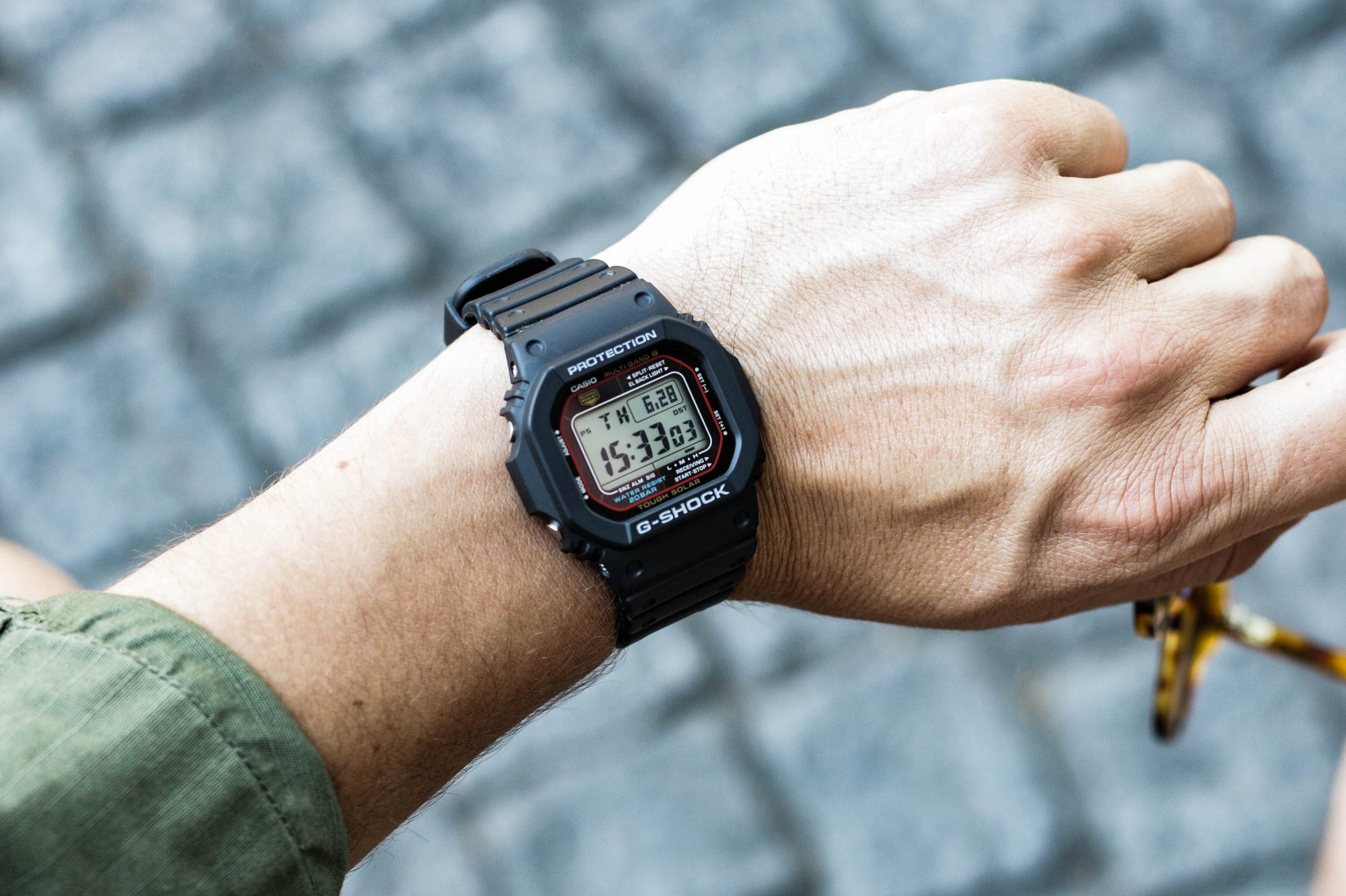 cadran Casio G-Shock GW-M5610-1ER