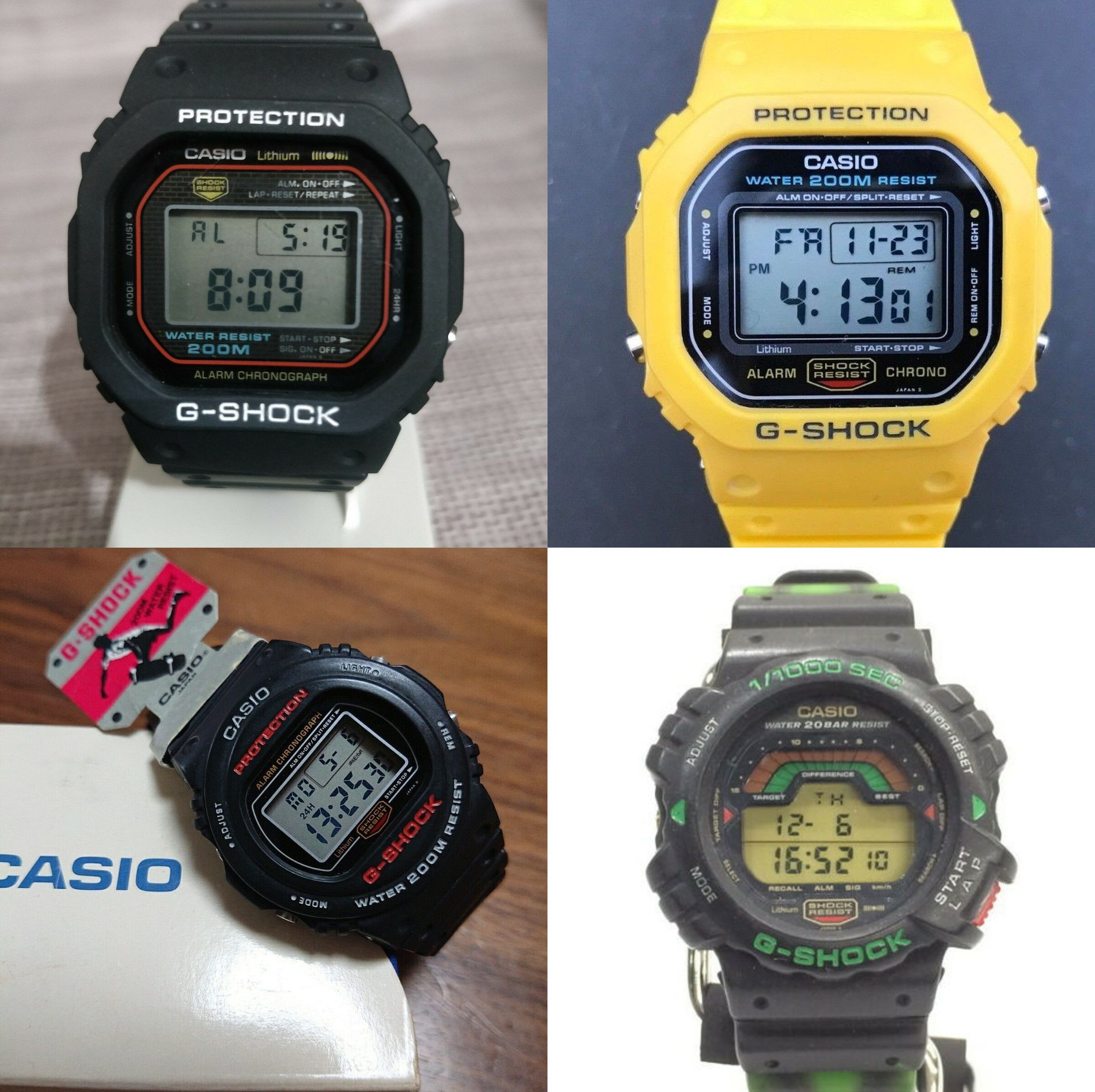 casio g-shock vintage