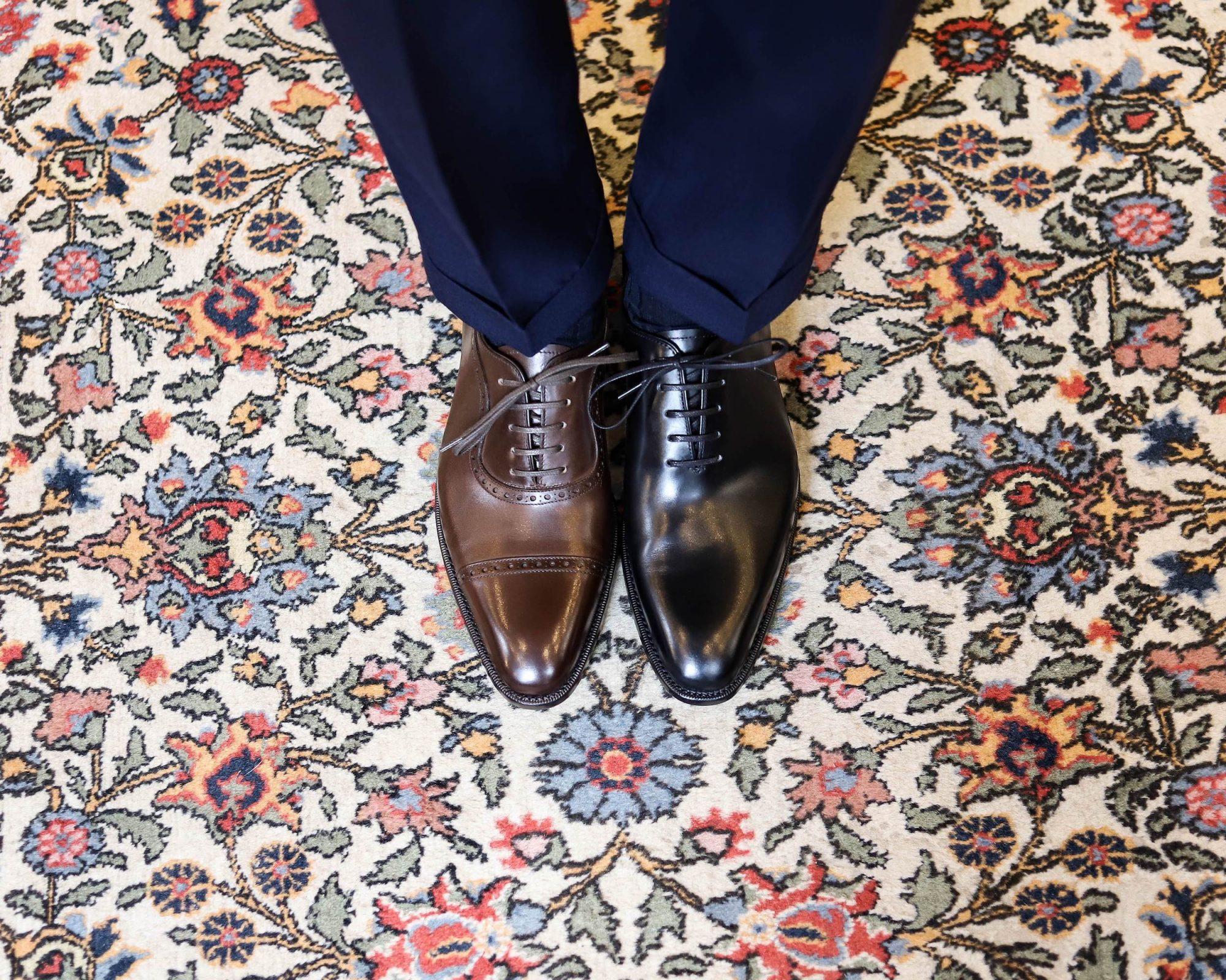 chaussure marron ou chaussures noires pour un mariage