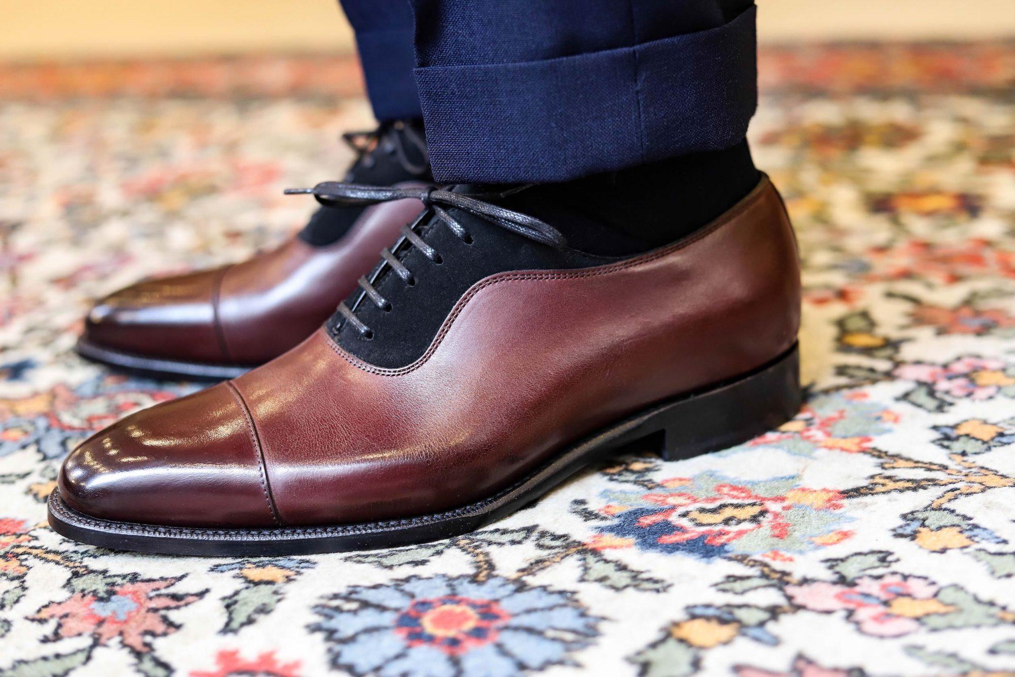 chaussures homme bi matiere