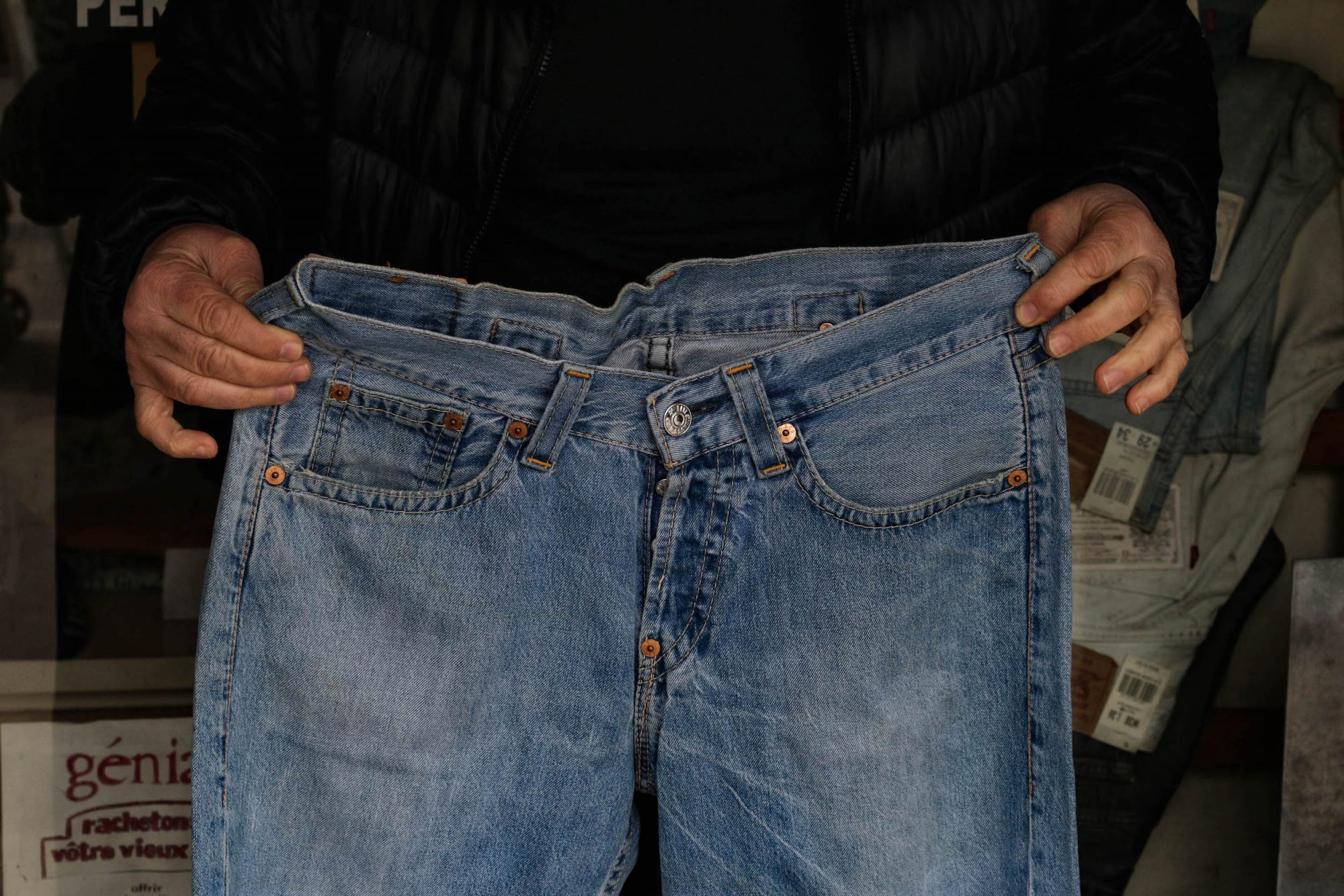 jean levis vintage