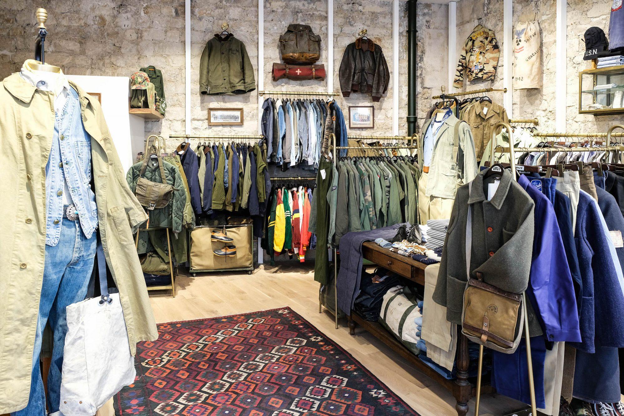 meilleure boutique vintage paris
