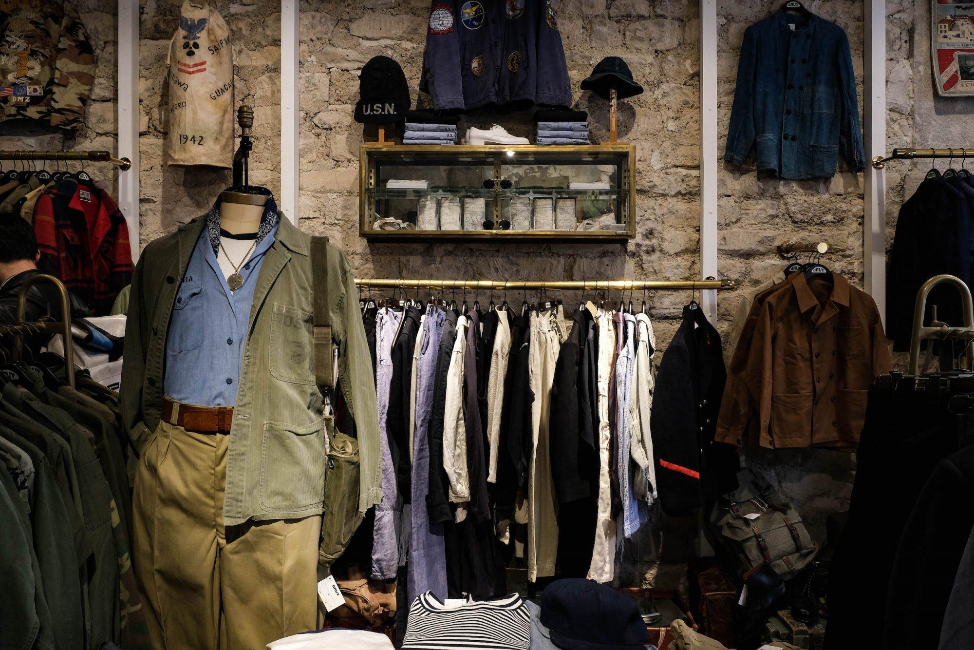 Sélection vêtements vintage paris