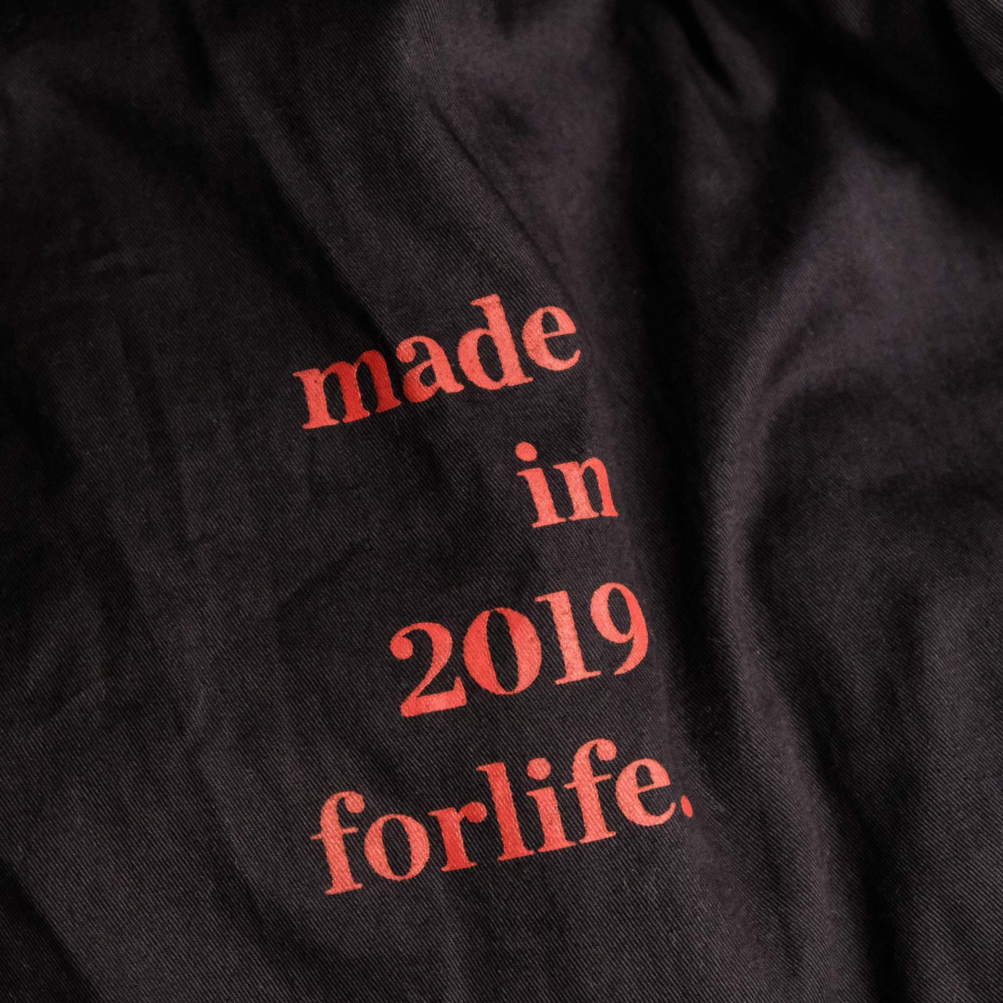 made in 2019 forlife