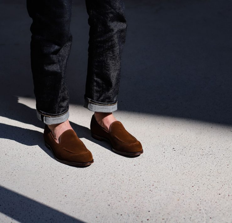 mocassins sans pampilles crockett and jones