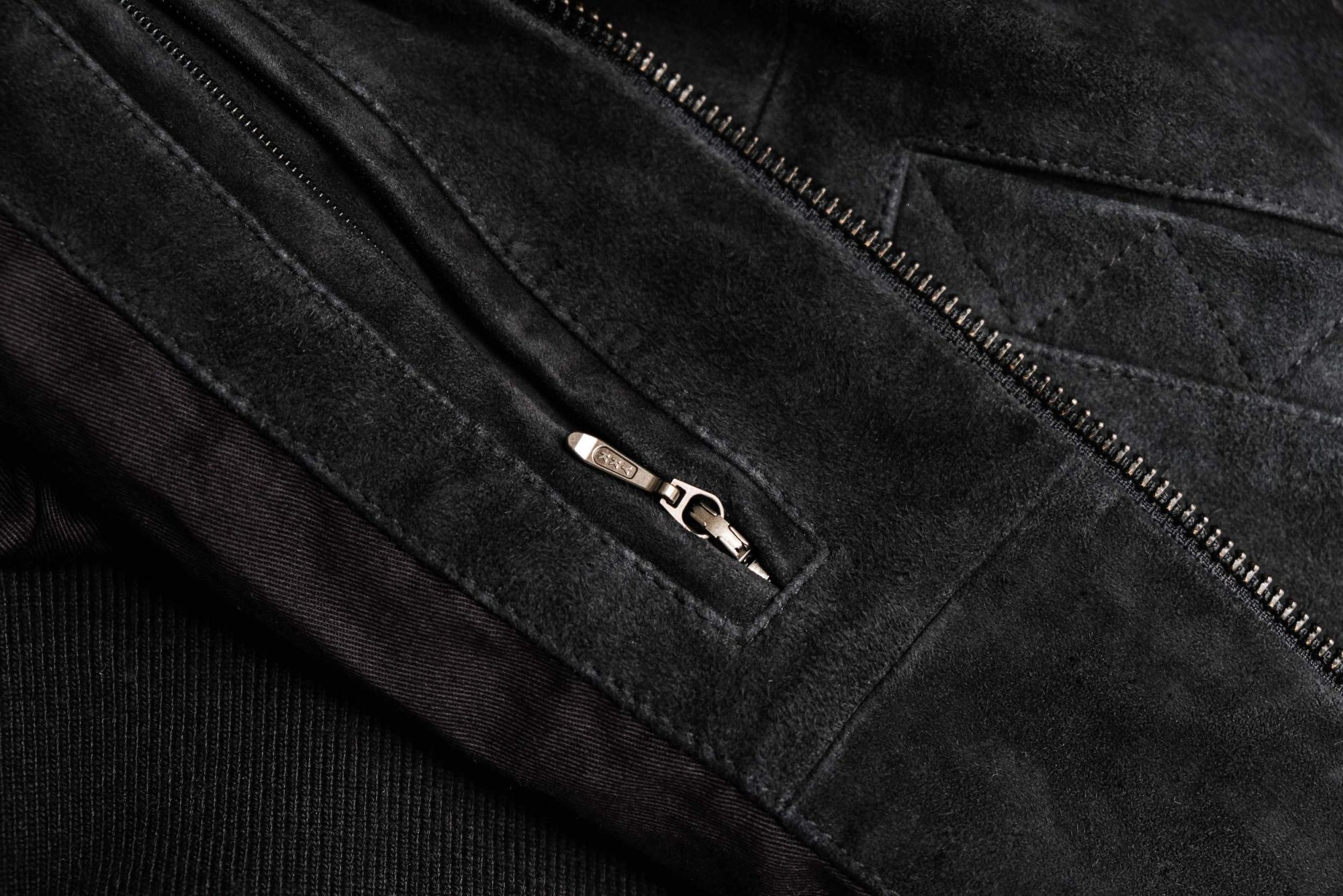 zip ykk blouson cuir