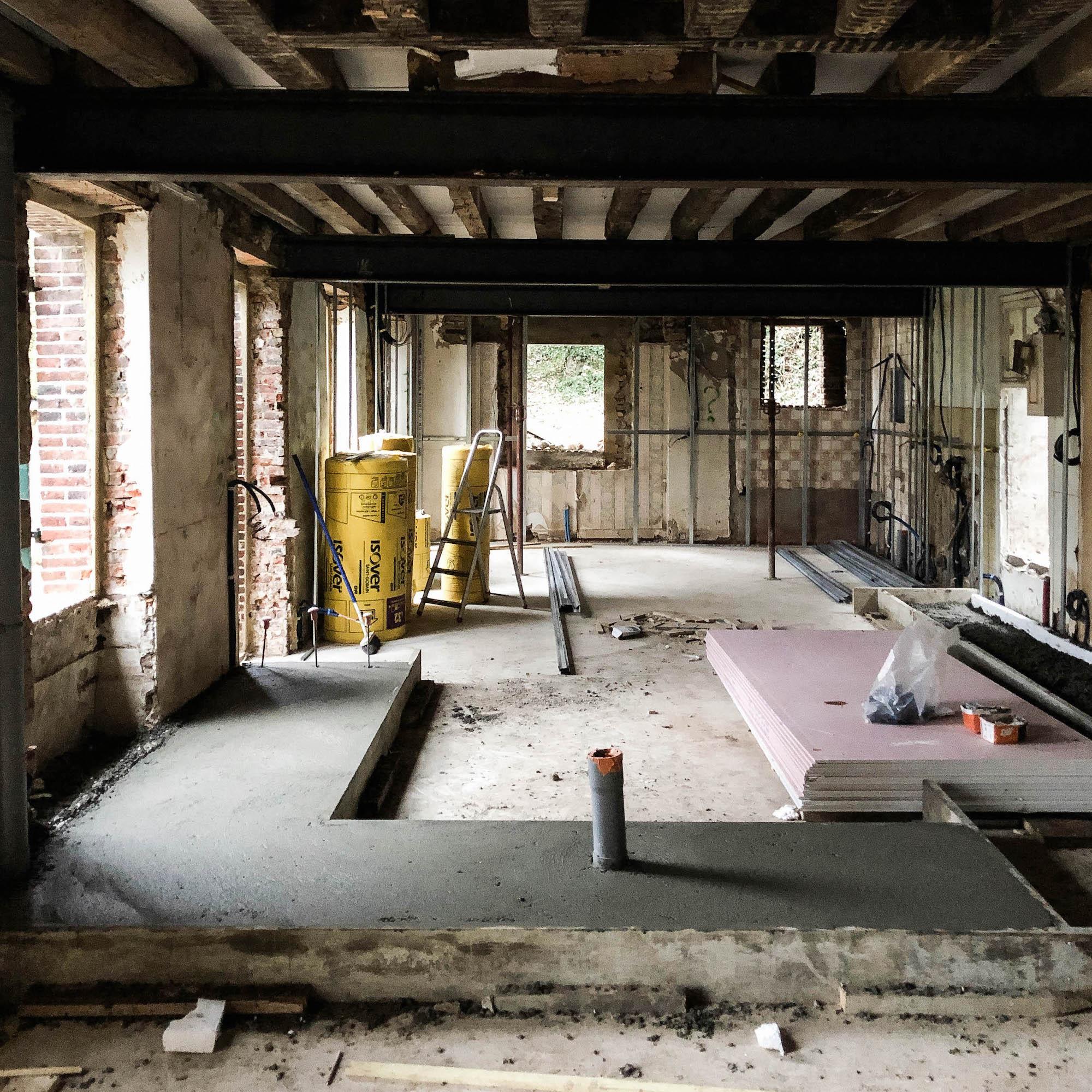 dalle beton maison vgl