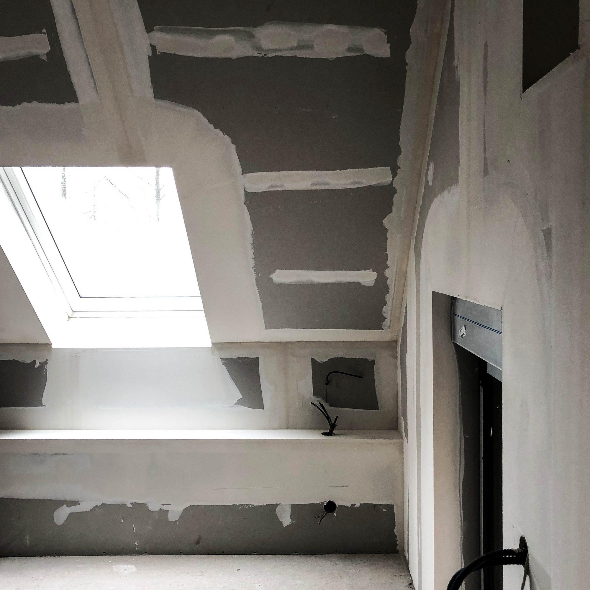 chambre placo bande