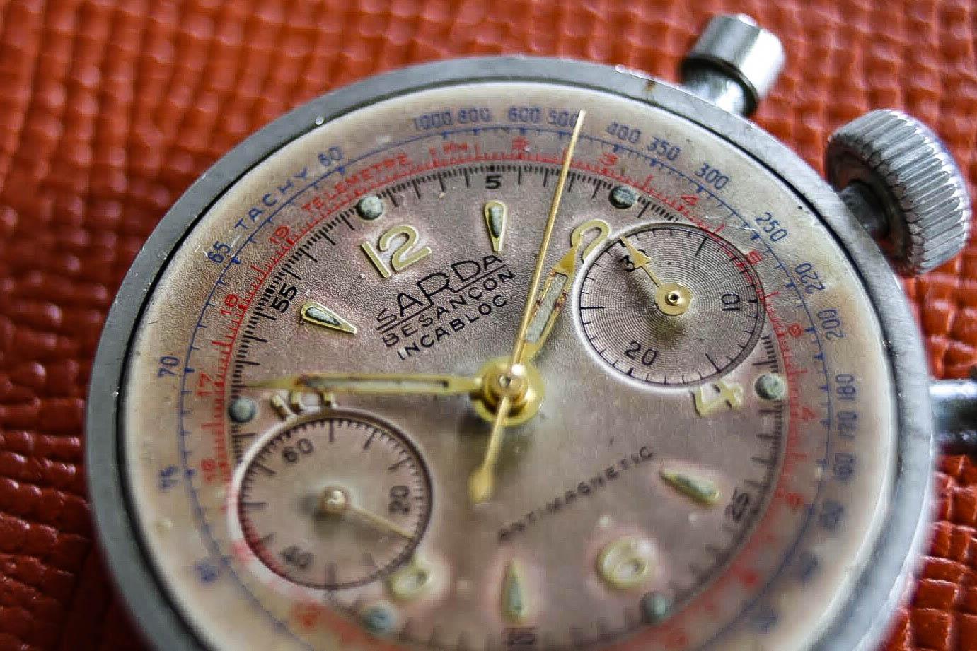 chronographe sarda